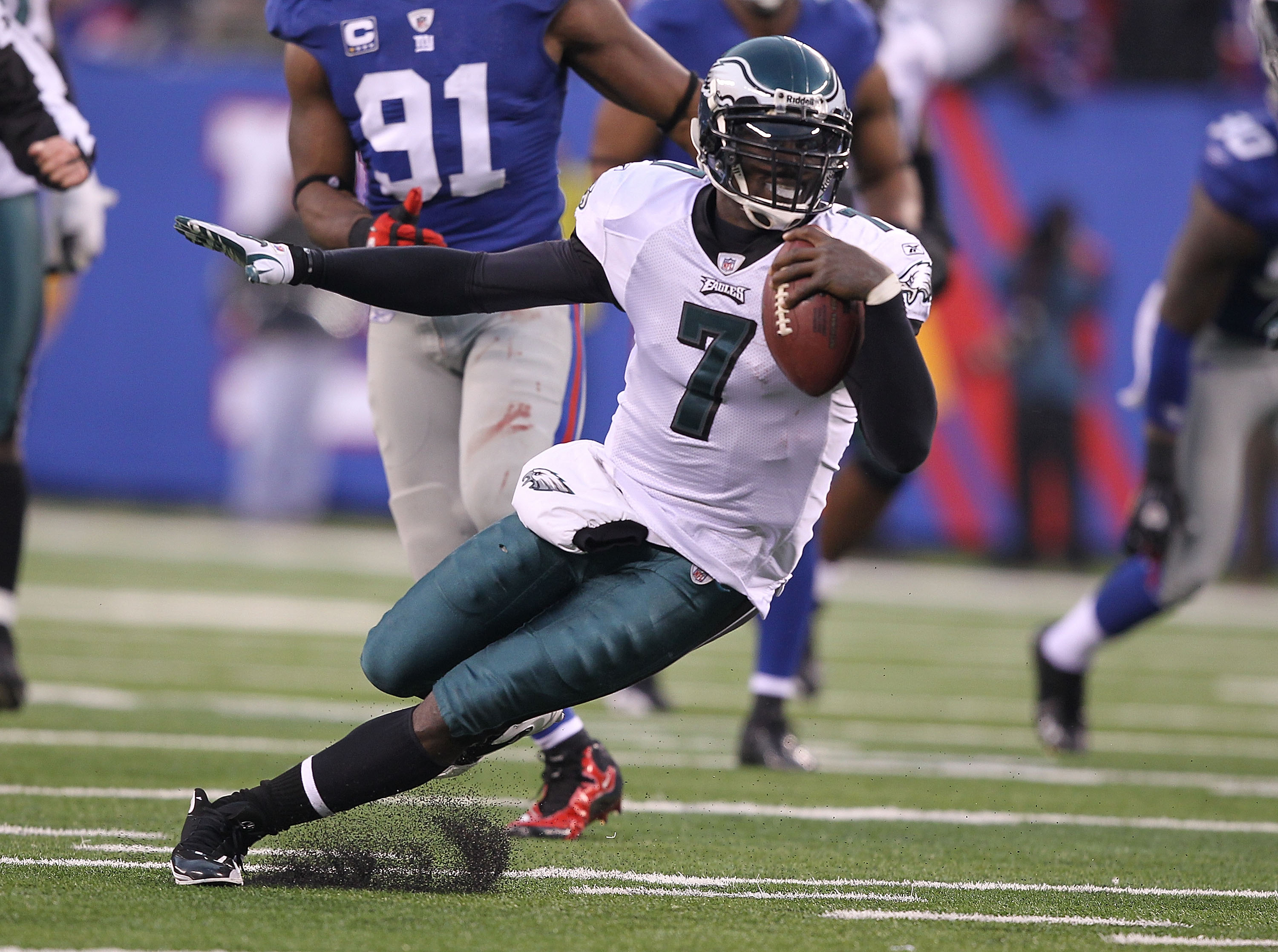 what are michael vick's strengths and By bomani jones page 2 remember when people thought michael vick was the future of the quarterback position four decembers before vince young exacted revenge against the texans with a 39-yard.