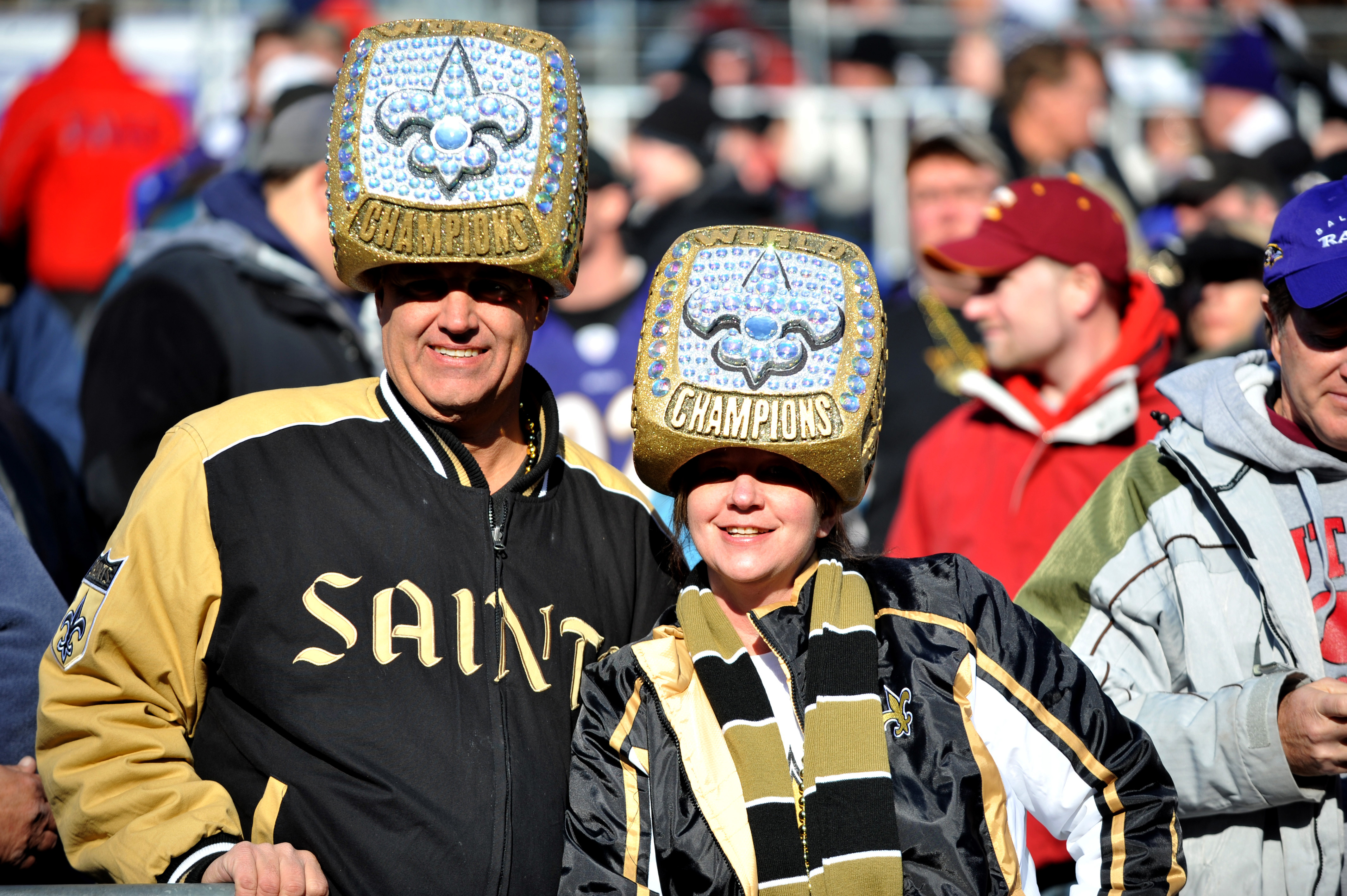 Who dat?  Saints fans will still have something to cheer about in the weeks ahead.
