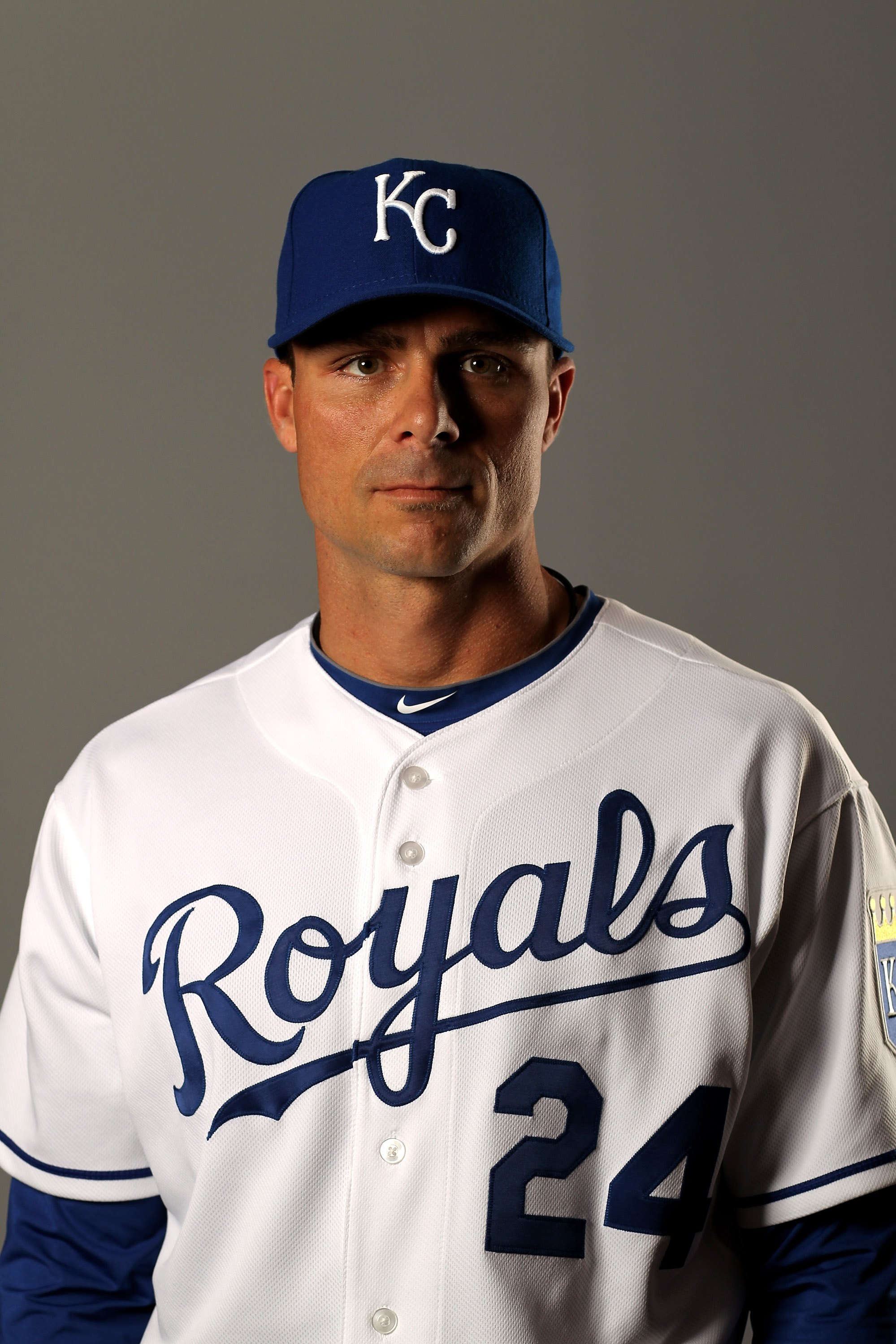 SURPRISE, AZ - FEBRUARY 26:  Rick Ankiel of the Kansas City Royals poses during photo media day at the Royals spring training complex on February 26, 2010 in Surprise, Arizona.  (Photo by Ezra Shaw/Getty Images)
