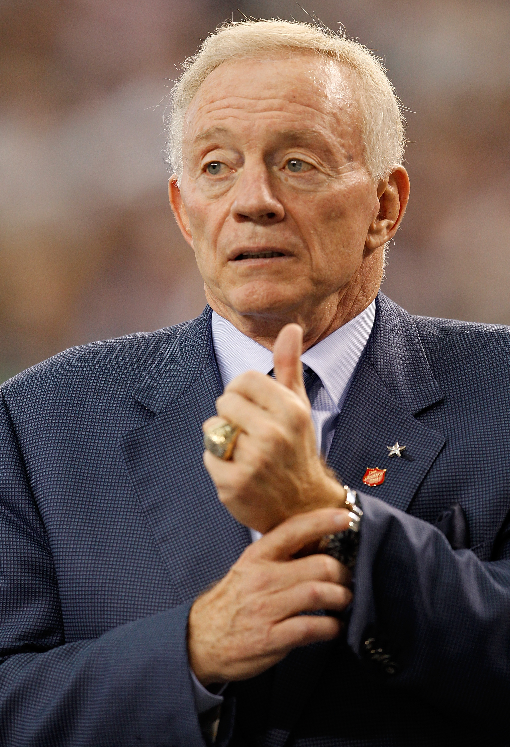 Cowboys owner Jerry Jones hasn't had much to smile about this season ... but wait 'till next year.