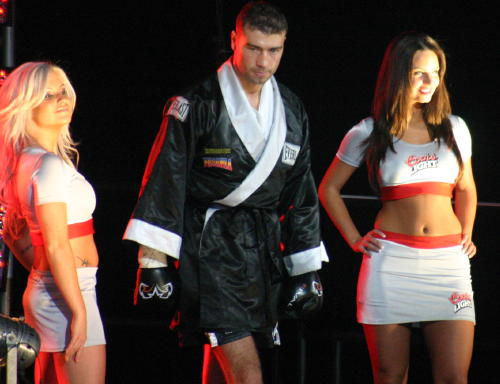 Lucian Bute Promotional Photo