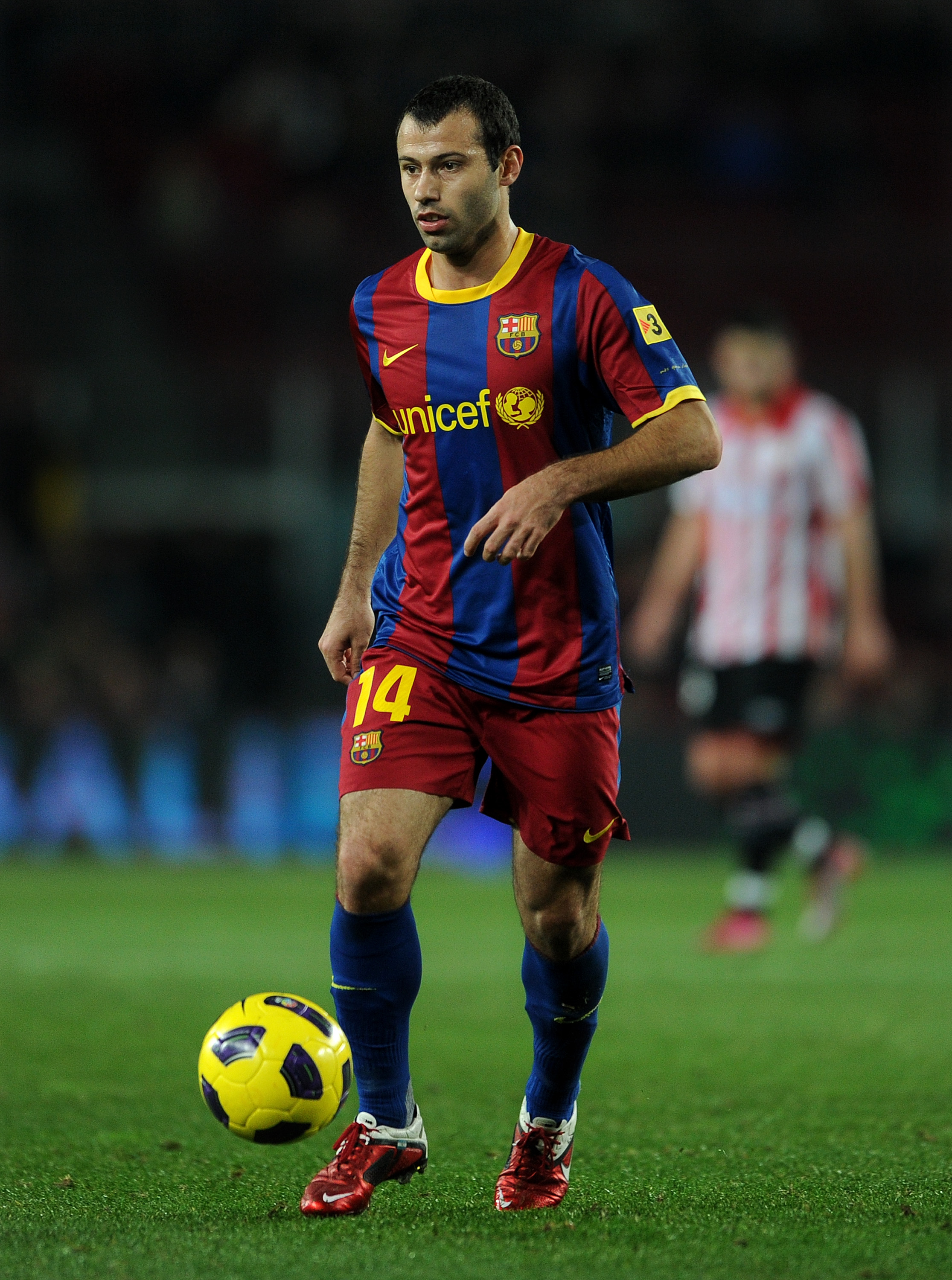 El Jefito isn't much of Jefe when Busquets is around