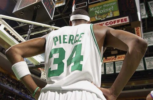 Paul Pierce has taken on a larger role for the Celtics since Rondo's injury