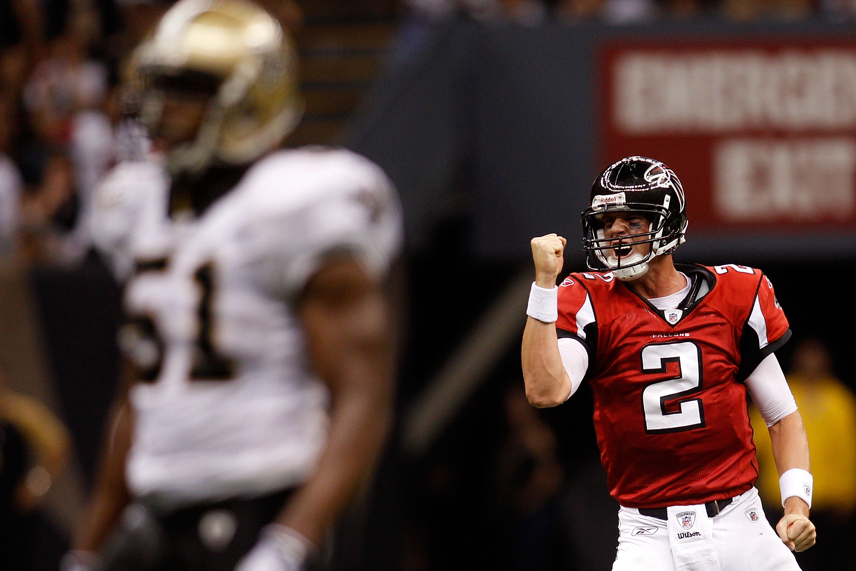 If the Falcons do what Falcons do, Matt Ryan and the Atlanta Falcons will be celebrating a number one seed and homefield advantage throughout the playoffs Monday night in the Georgia Dome
