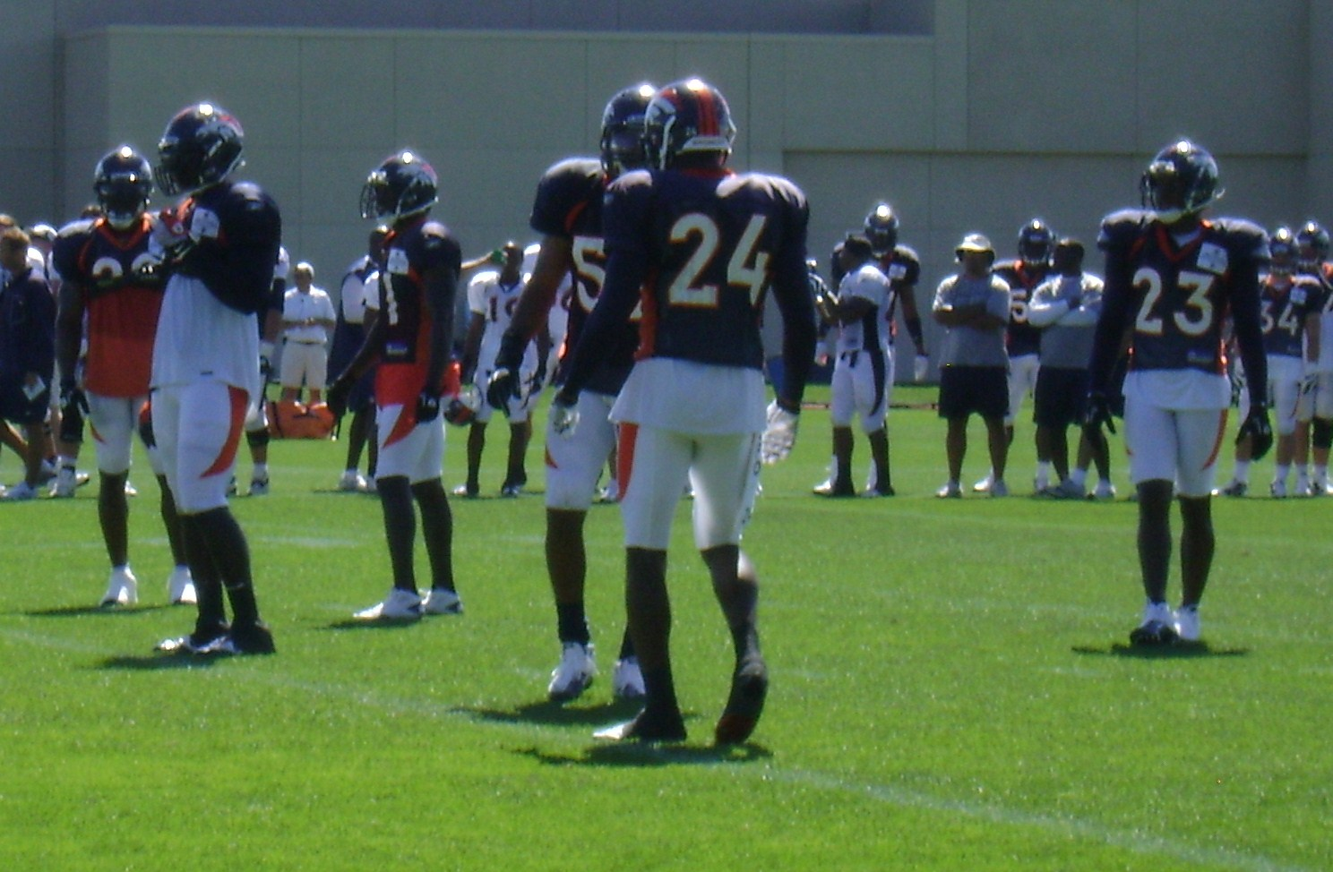At least four of these players will not be starting in Denver in 2011 (Bailey, Dawkins, Andre Goodman and Renaldo Hill)