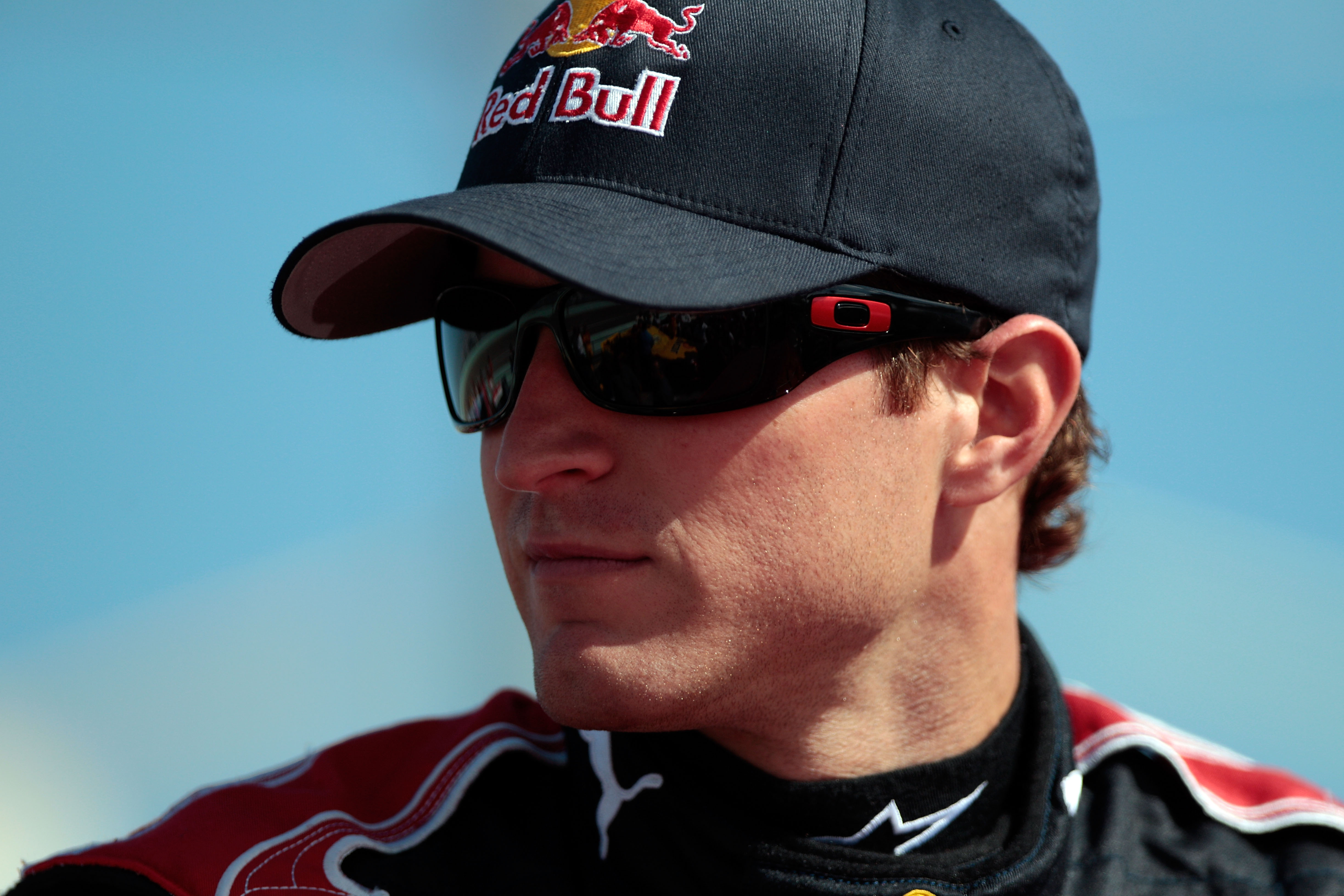 HOMESTEAD, FL - NOVEMBER 21:  Kasey Kahne, driver of the #83 Red Bull Toyota, looks on prior to the NASCAR Sprint Cup Series Ford 400 at Homestead-Miami Speedway on November 21, 2010 in Homestead, Florida.  (Photo by Chris Graythen/Getty Images)