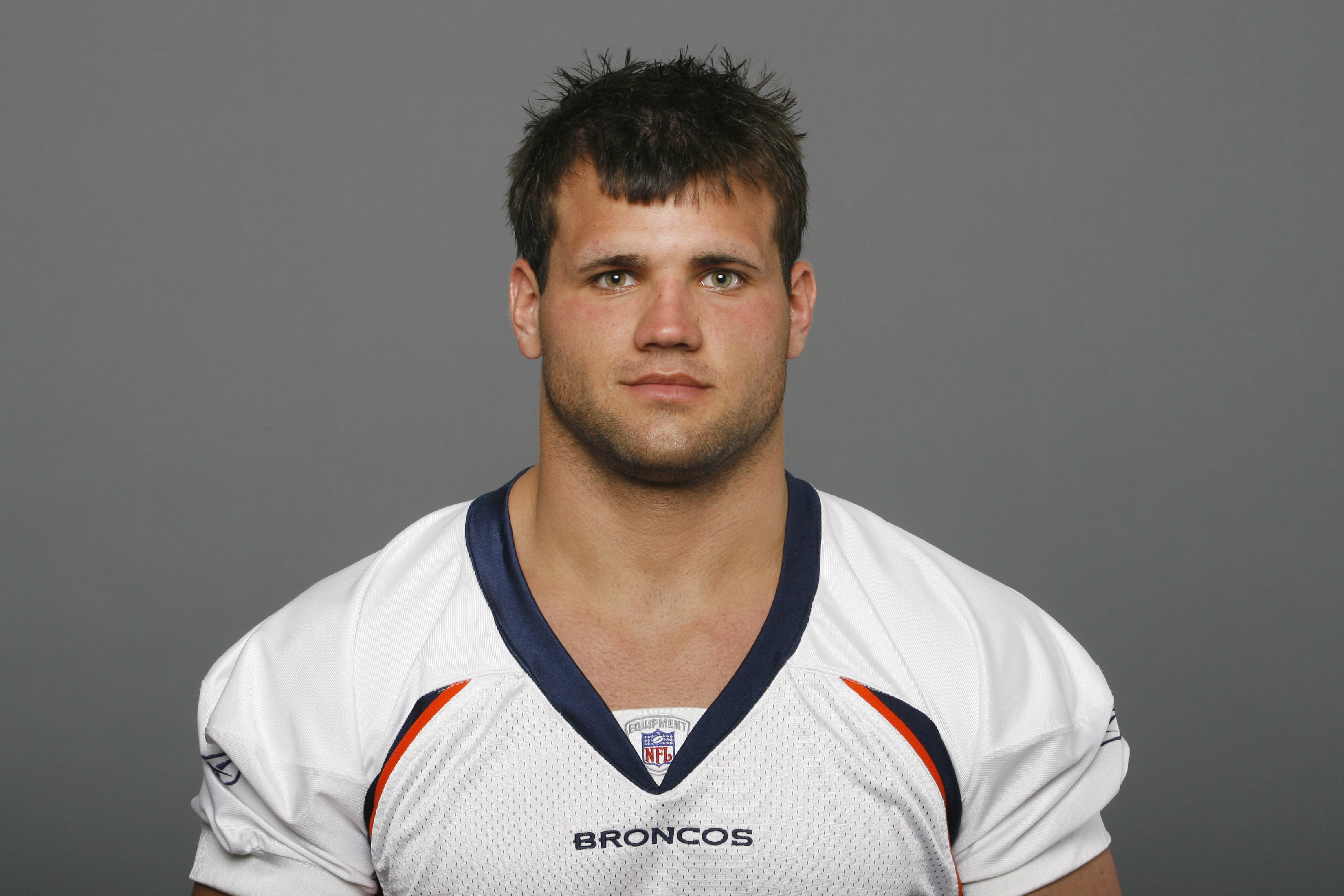 DENVER - 2009:  Peyton Hillis of the Denver Broncos poses for his 2009 NFL headshot at photo day in Denver, Colorado. (Photo by NFL Photos)