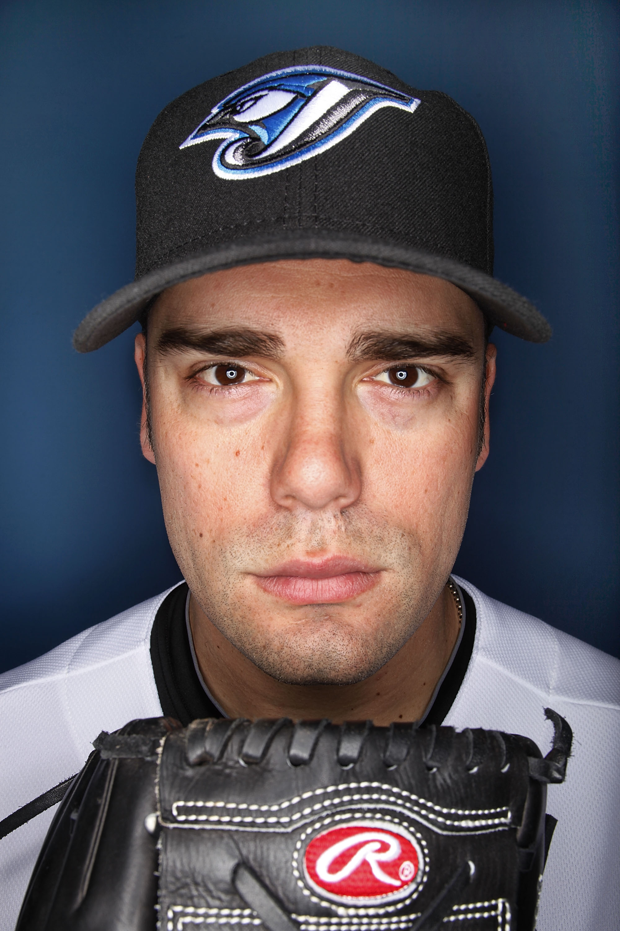 DUNEDIN, FL - MARCH 01:  Kevin Gregg #63 of the Toronto Blue Jays poses for photos during media day  on March 1, 2010 in Dunedin, Florida.  (Photo by Marc Serota/Getty Images)