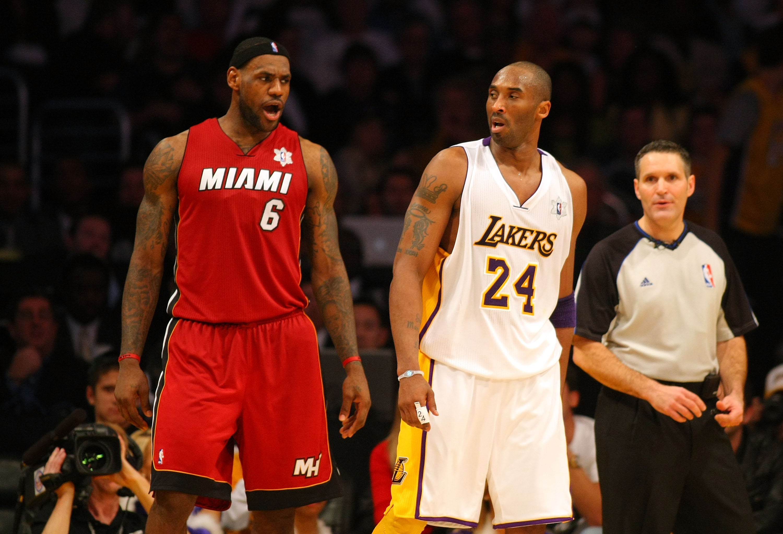 cheap for discount 18b3d 34b57 Kobe Bryant vs. LeBron James  Heroes   Villains Exchange Roles, Lift NBA  Ratings