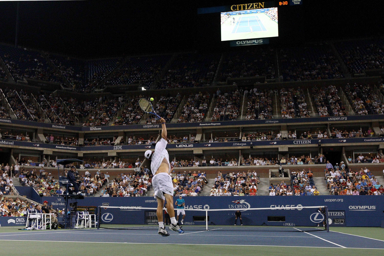 Roddick winning