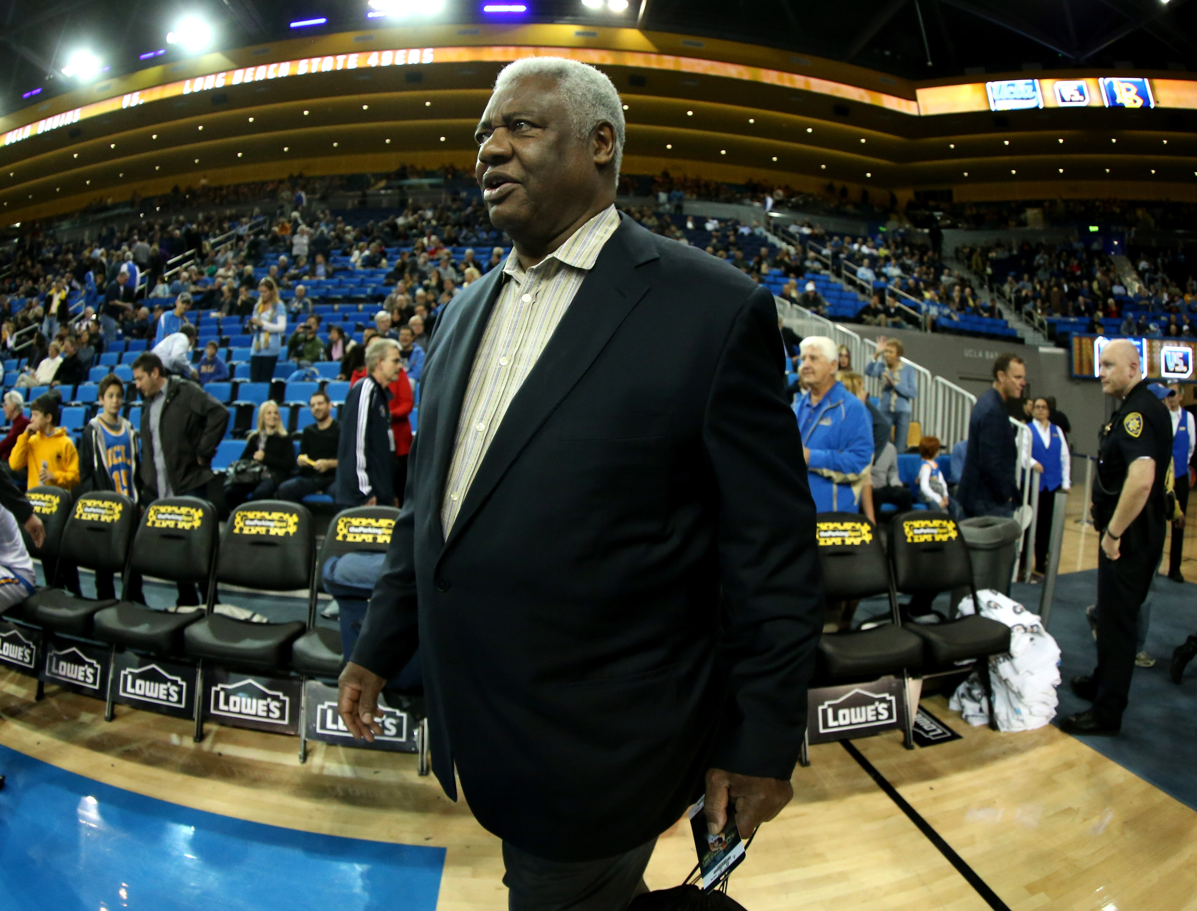 LOS ANGELES, CA - DECEMBER 18:  NBA legend Oscar Robertson attends the game between the Long Beach State 49ers and the UCLA Bruins at Pauley Pavilion on December 18, 2012 in Los Angeles, California.  (Photo by Stephen Dunn/Getty Images)