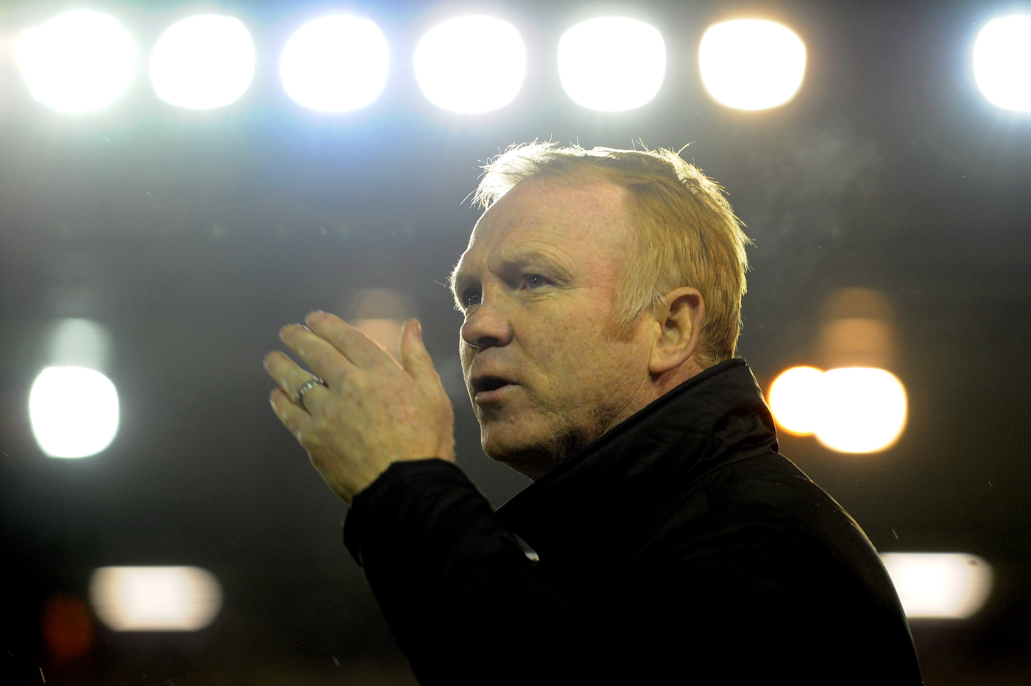 On his way out? McLeish