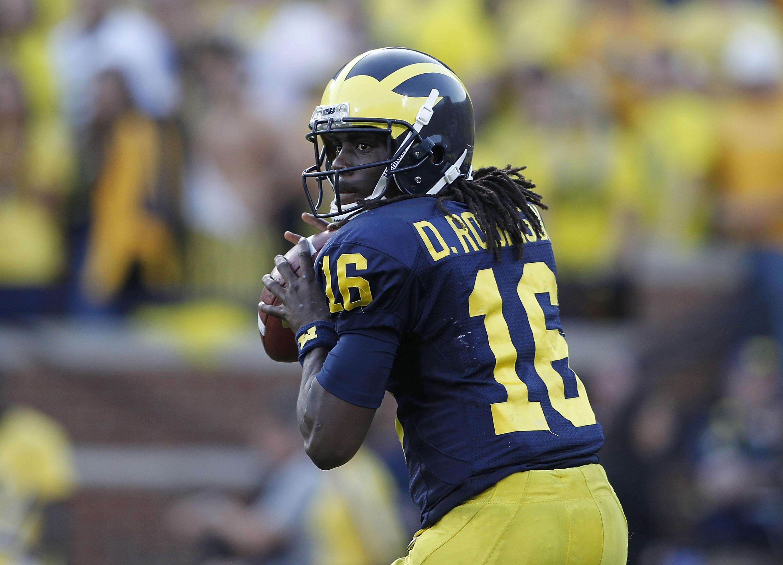 watch 43808 5c17e Michigan Football: 10 Reasons Denard Robinson Isn't Going ...