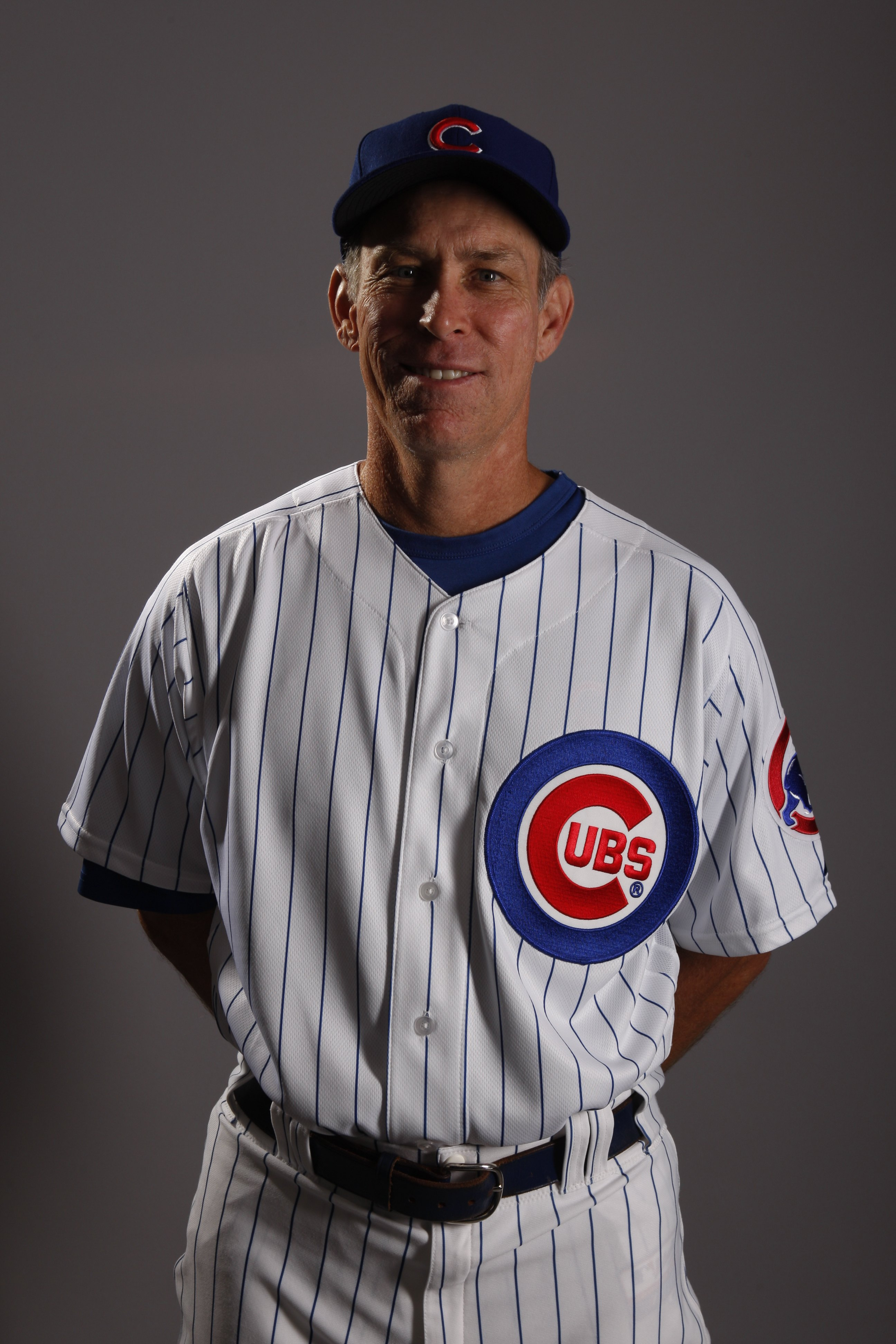 MESA, AZ - FEBRUARY 25:  Bench coach Alan Trammell of the Chicago Cubs poses for a photo during Spring Training Photo Day on February 25, 2008 in Mesa, Arizona.  (Photo by Chris Graythen/Getty Images)