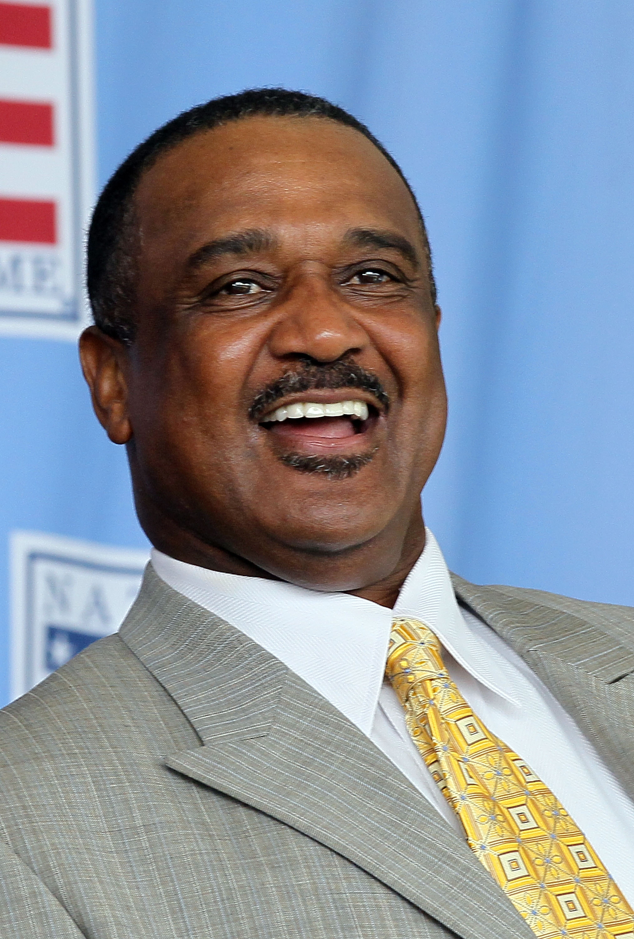 COOPERSTOWN, NY - JULY 25:  Hall of Famer Jim Rice attends the Baseball Hall of Fame induction ceremony at Clark Sports Center on July 25, 20010 in Cooperstown, New York.  (Photo by Jim McIsaac/Getty Images)