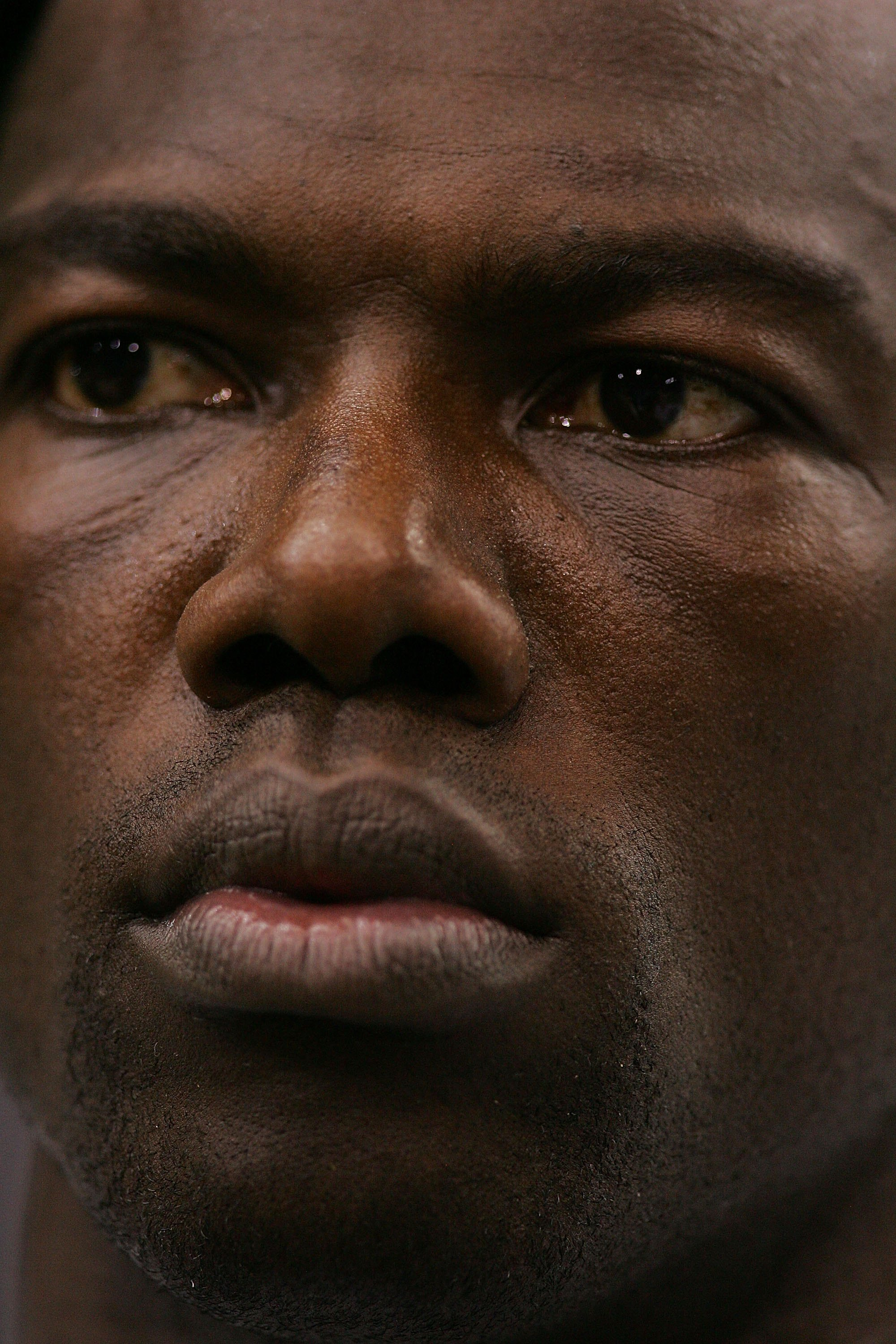 DALLAS - SEPTEMBER 15:  Wide receiver Terrell Owens #81 of the Dallas Cowboys during a post game interview at Texas Stadium on September 15, 2008 in Irving, Texas.  (Photo by Ronald Martinez/Getty Images)