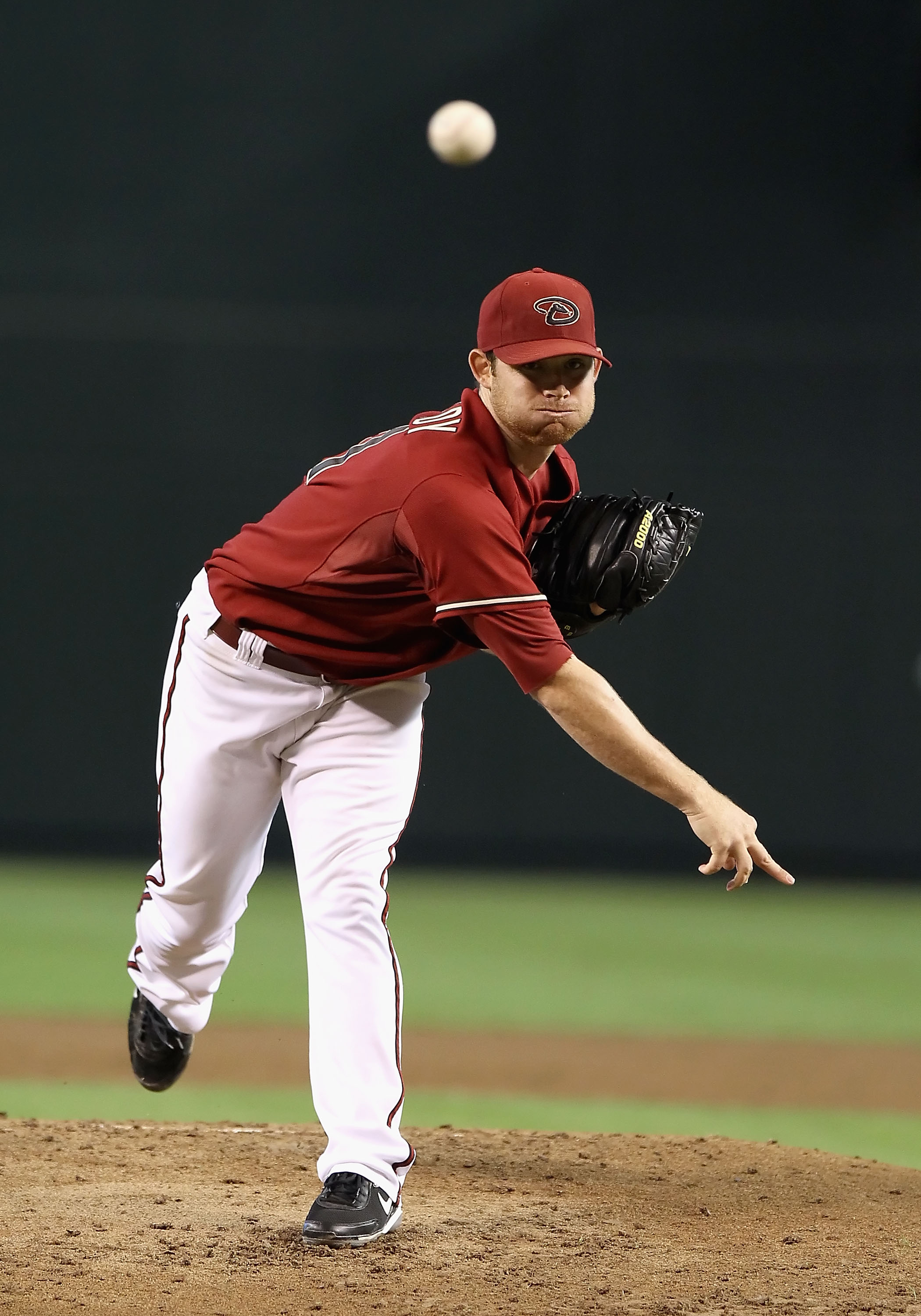 PHOENIX - SEPTEMBER 06:  Starting pitcher Ian Kennedy #31 of the Arizona Diamondbacks pitches against the San Francisco Giants during the Major League Baseball game at Chase Field on September 6, 2010 in Phoenix, Arizona.  The Giants defeated the Diamondb