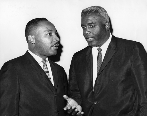 Martin Luther King Jr & Jackie Robinson