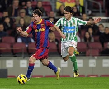 Messi destroys the La Liga