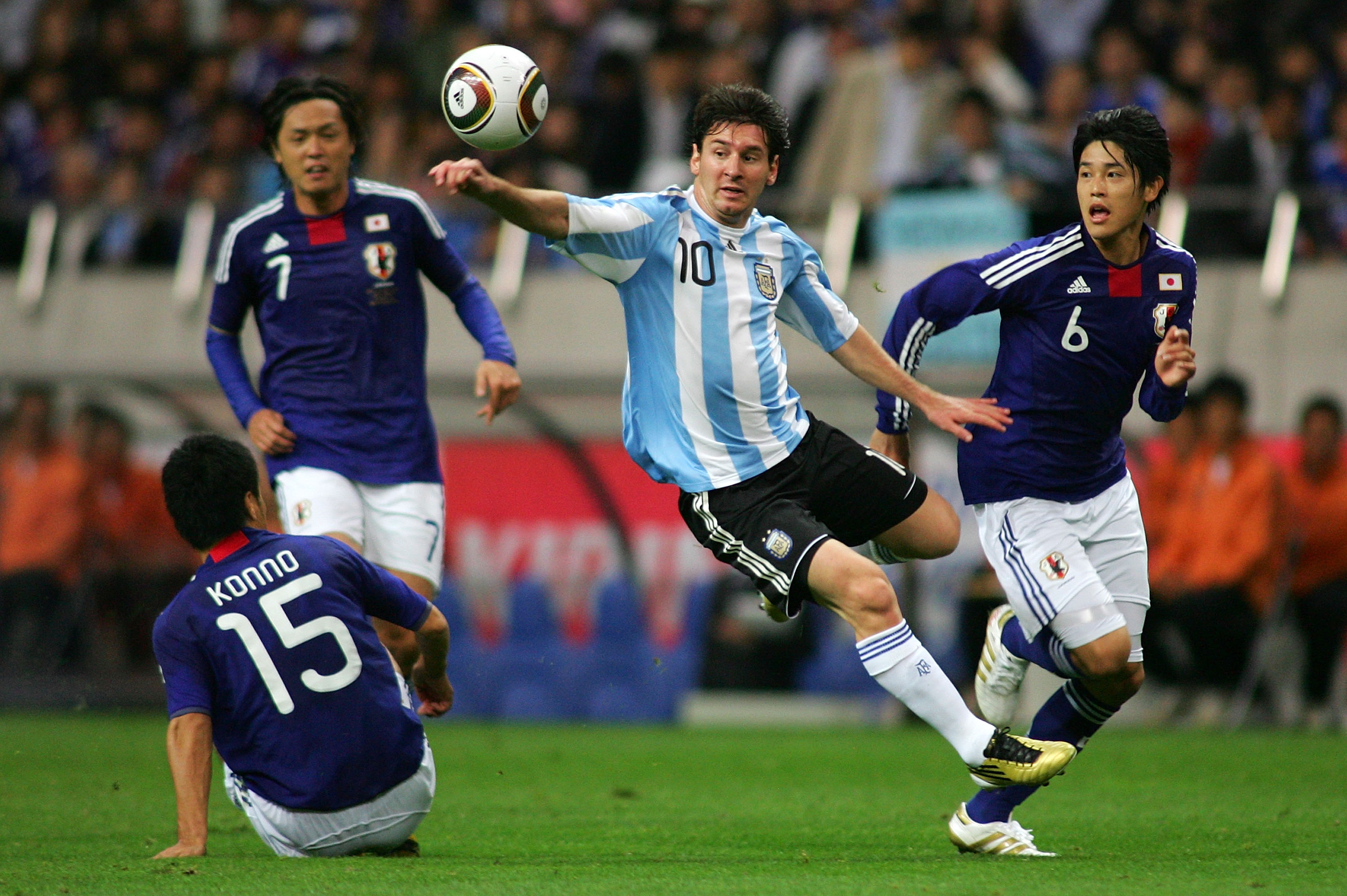 Will 2011 be the year Messi replicates his Barcelona form at the national team level
