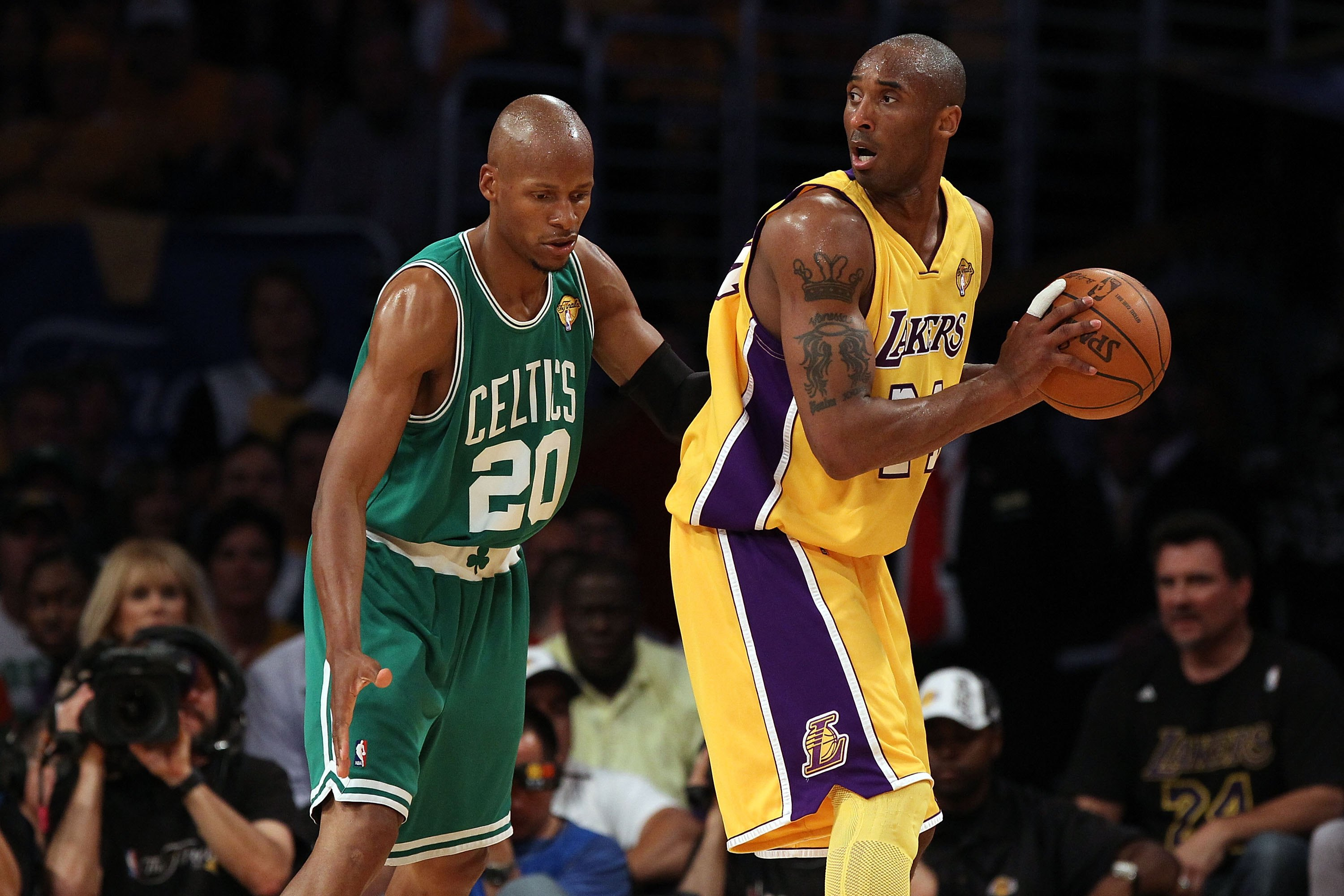 Kobe Bryant in the 2010 NBA Finals