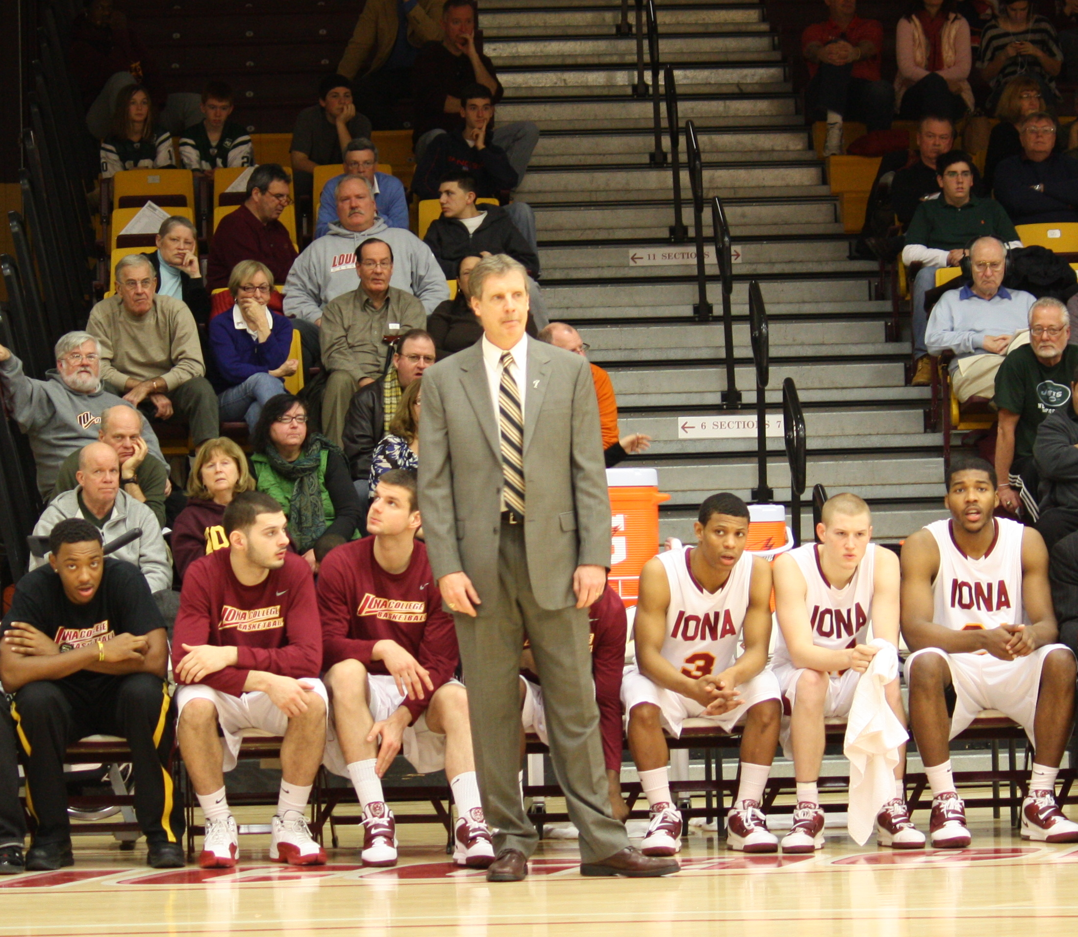 First Year Iona Coach Tim Cluess has stressed defense to his squad.