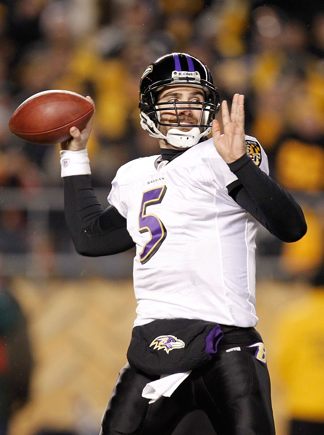 Flacco's not currently a great quarterback, but he's better than the guy who won the franchise's only Super Bowl.
