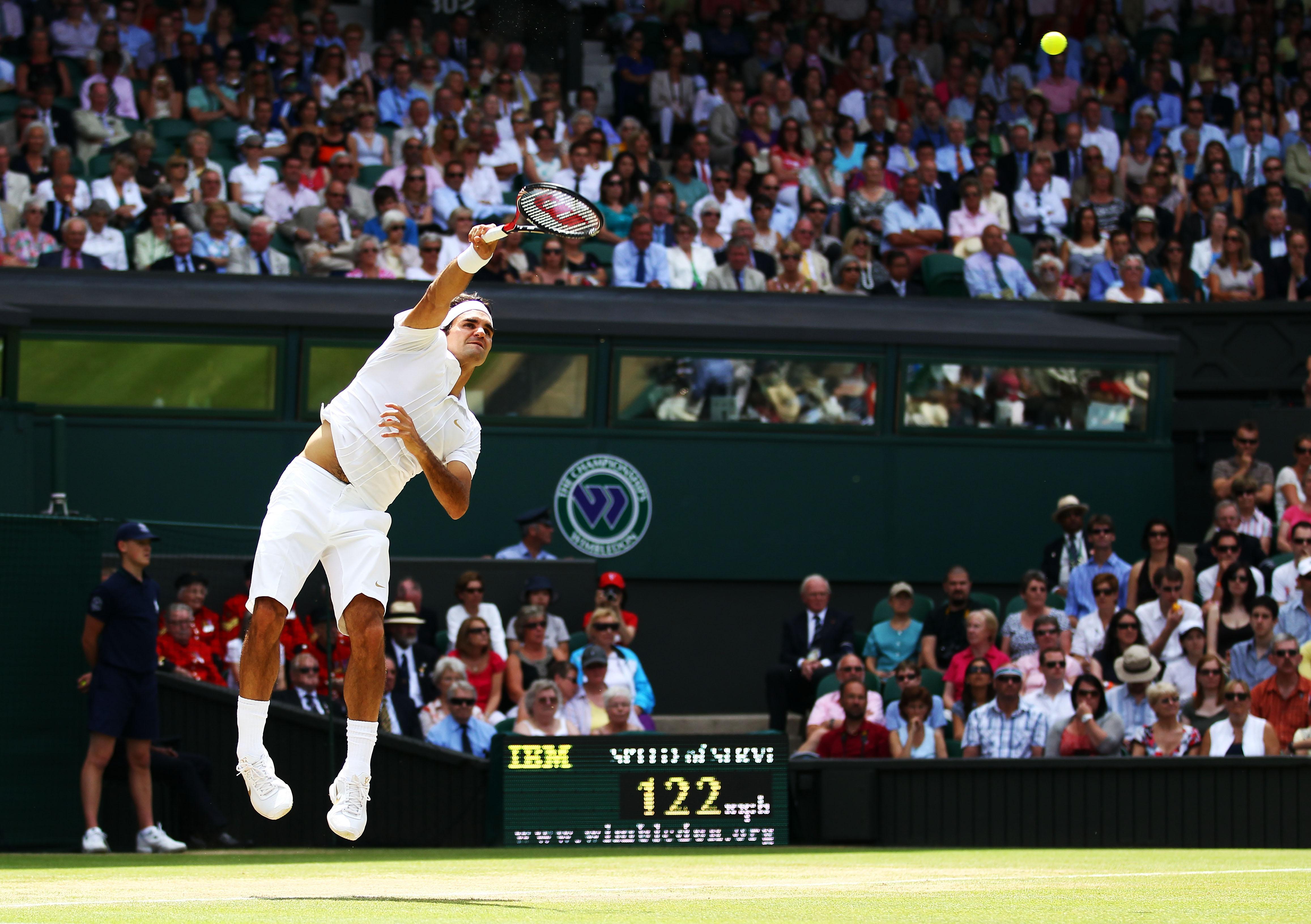 Roger Federer's second home - Wimbledon