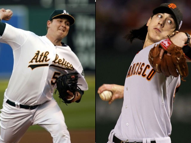 Trevor Cahill (2nd round) and Tim Lincecum (1st round) are now the aces for the teams that drafted them in 2006.