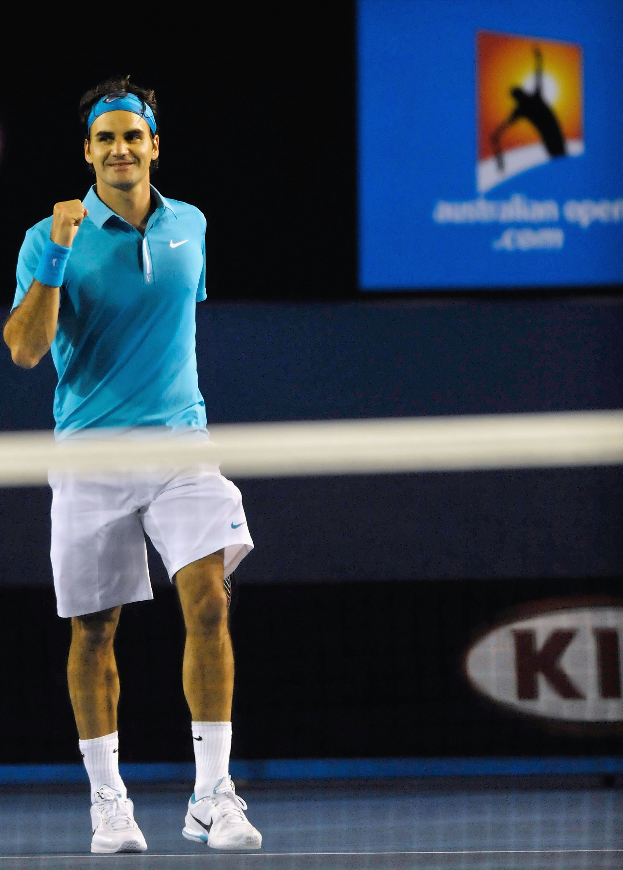 Roger Federer chases his 5th Australian Open Title.