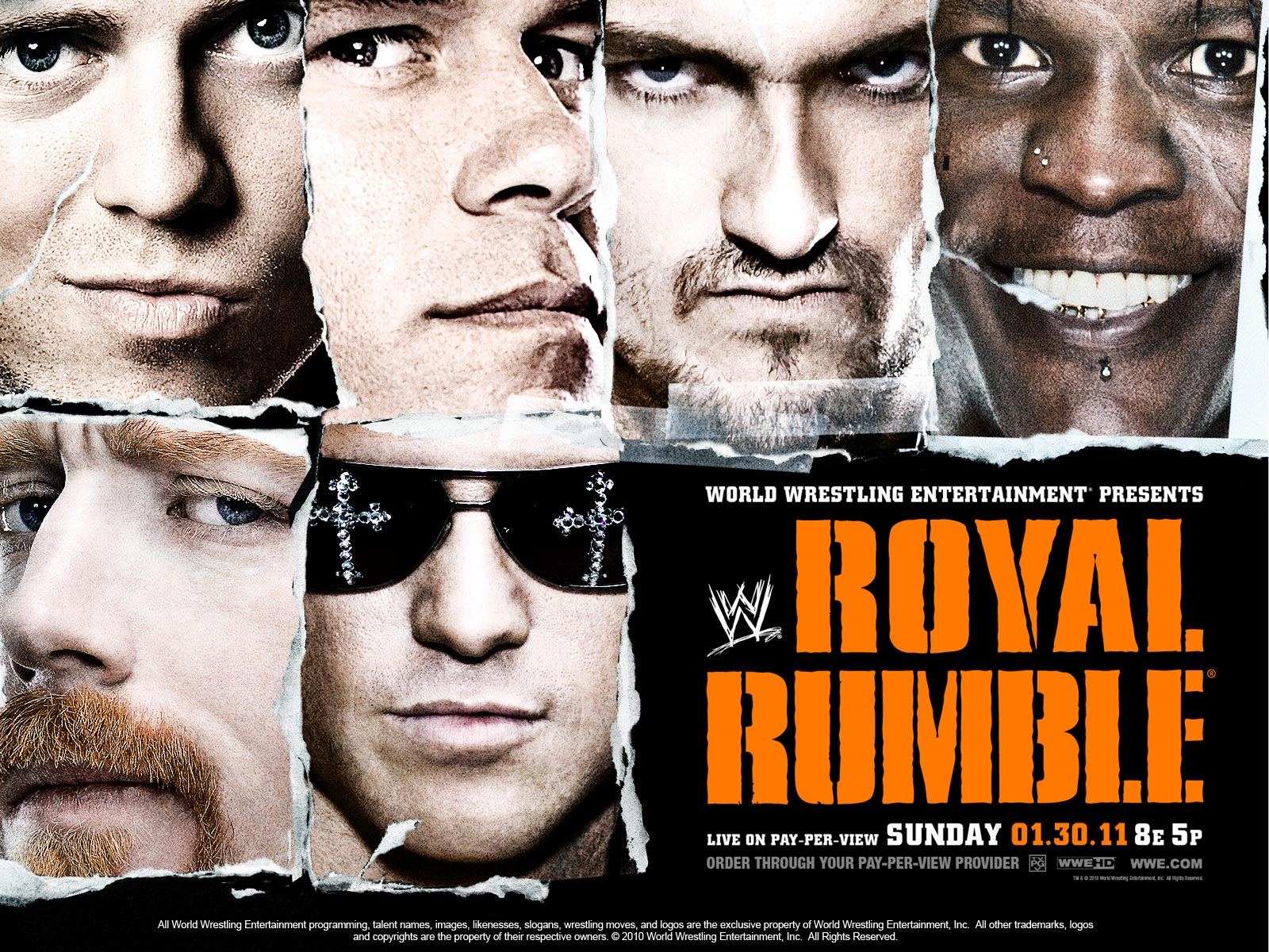 With 40 participants in this year's Rumble match, there are 10 extra men who wouldn't get a chance to shine any other time. Now's the time to put up or shut up.