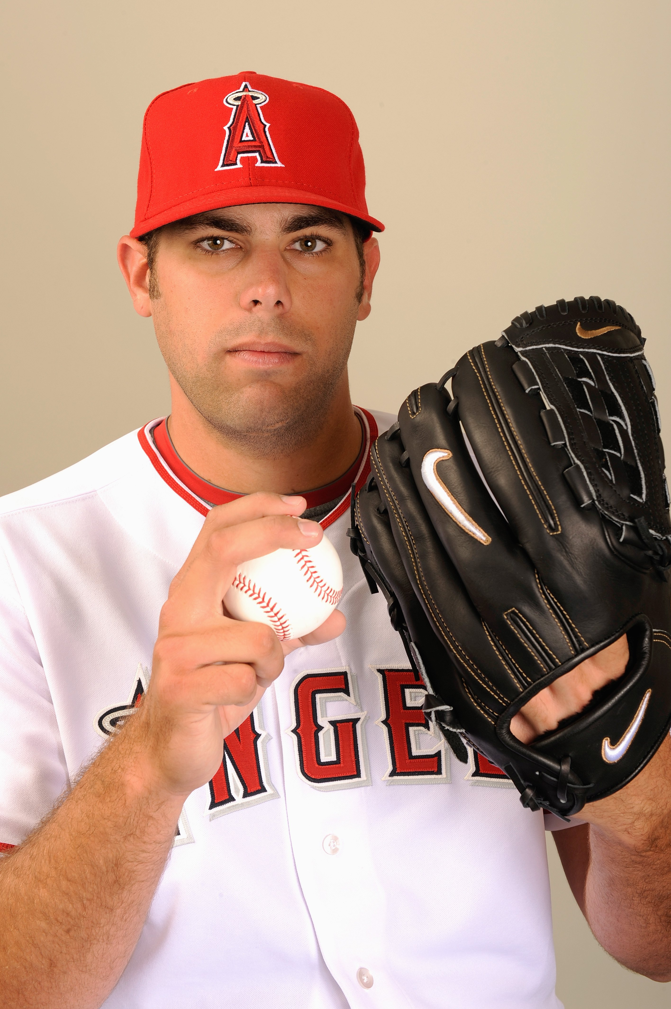TEMPE, AZ - FEBRUARY 25:  Jordan Walden #31 of the Los Angeles Angels of Anaheim poses during photo day at Tempe Diablo Stadium on February 25, 2009 in Tempe, Arizona. (Photo by Kevork Djansezian/Getty Images)