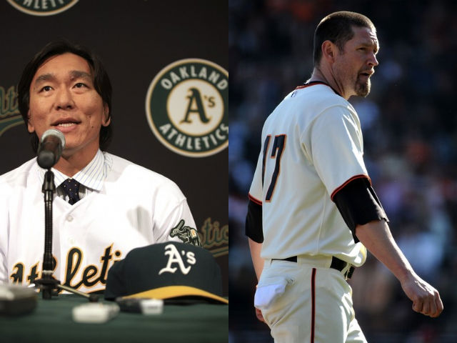 Aubrey Huff was supposed to be old and creaky. He wasn't. Can Hideki Matsui provide the same veteran spark for the A's?