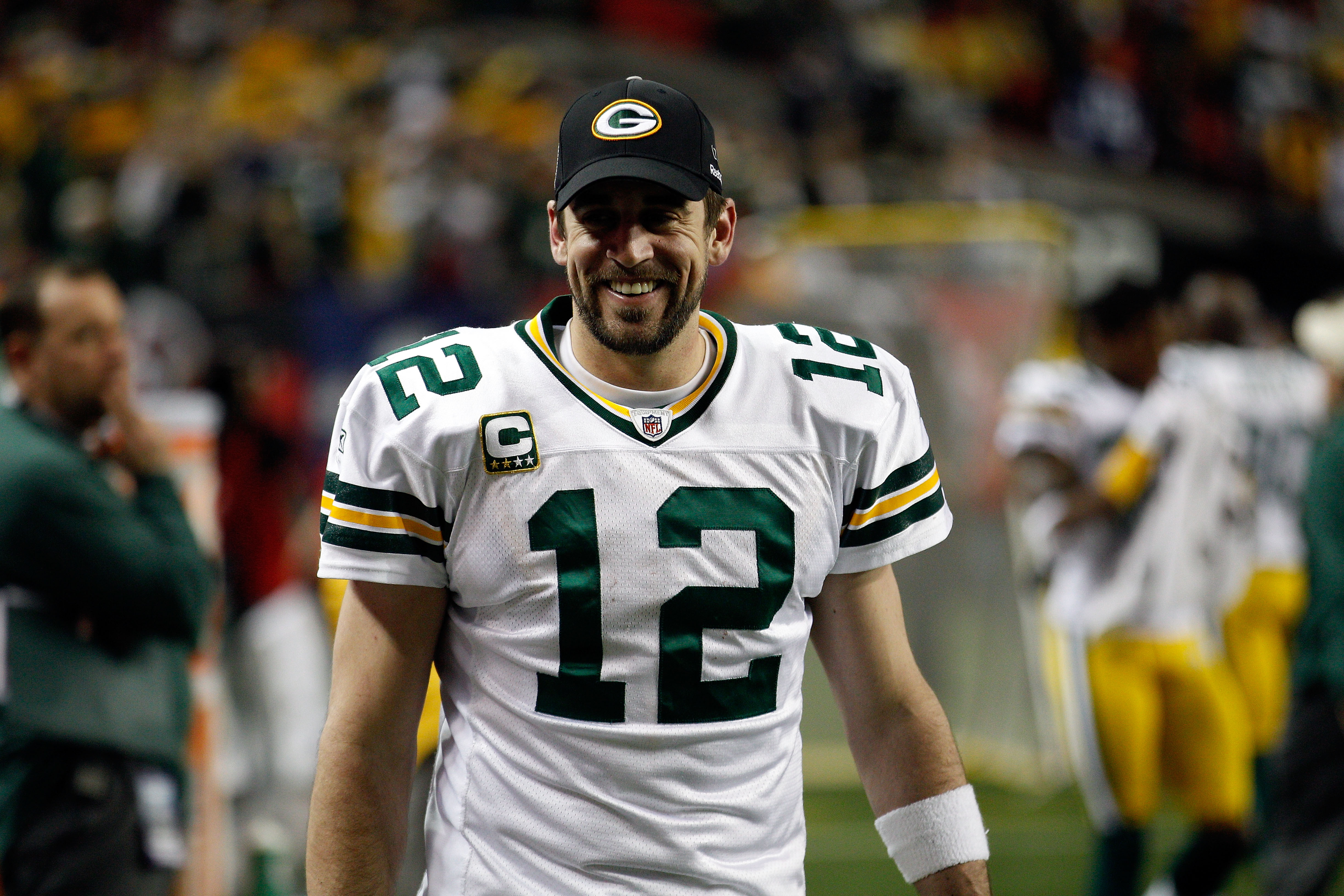 Rodgers will be all smiles after a beat down of Chicago