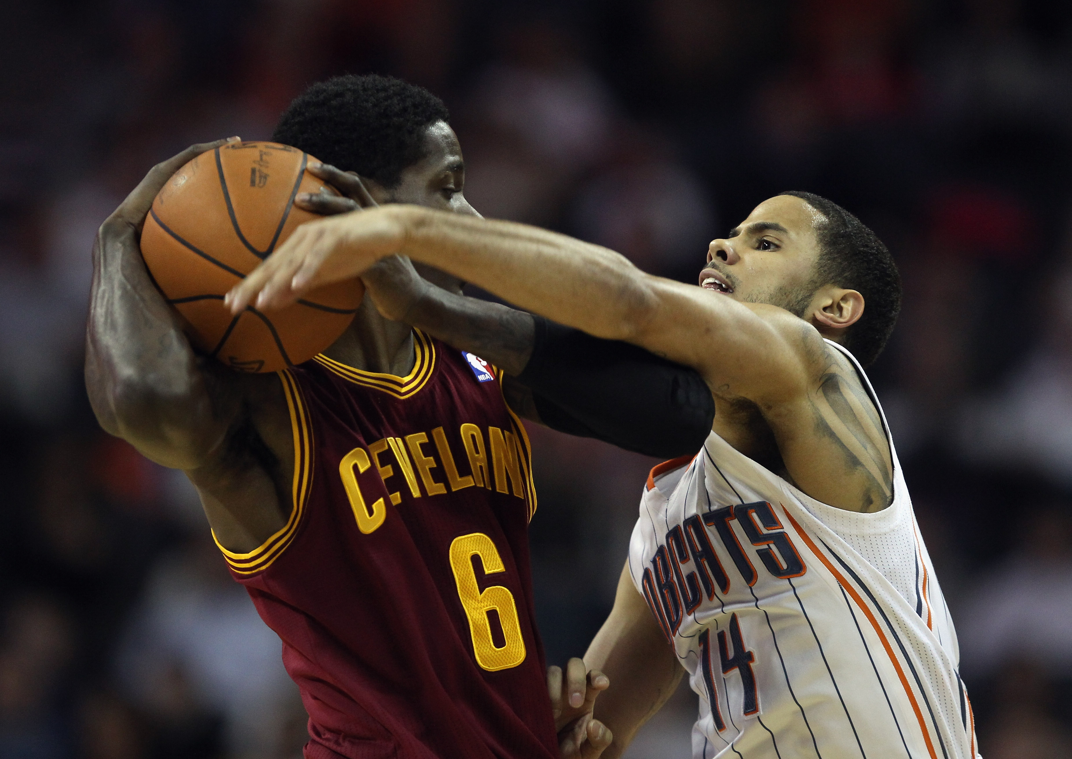 Manny Harris of the Cleveland Cavaliers
