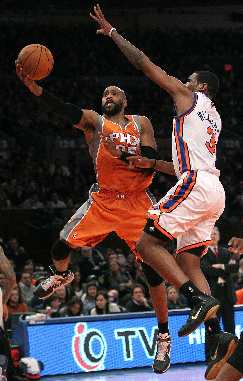 Vince Carter of the Phoenix Suns.