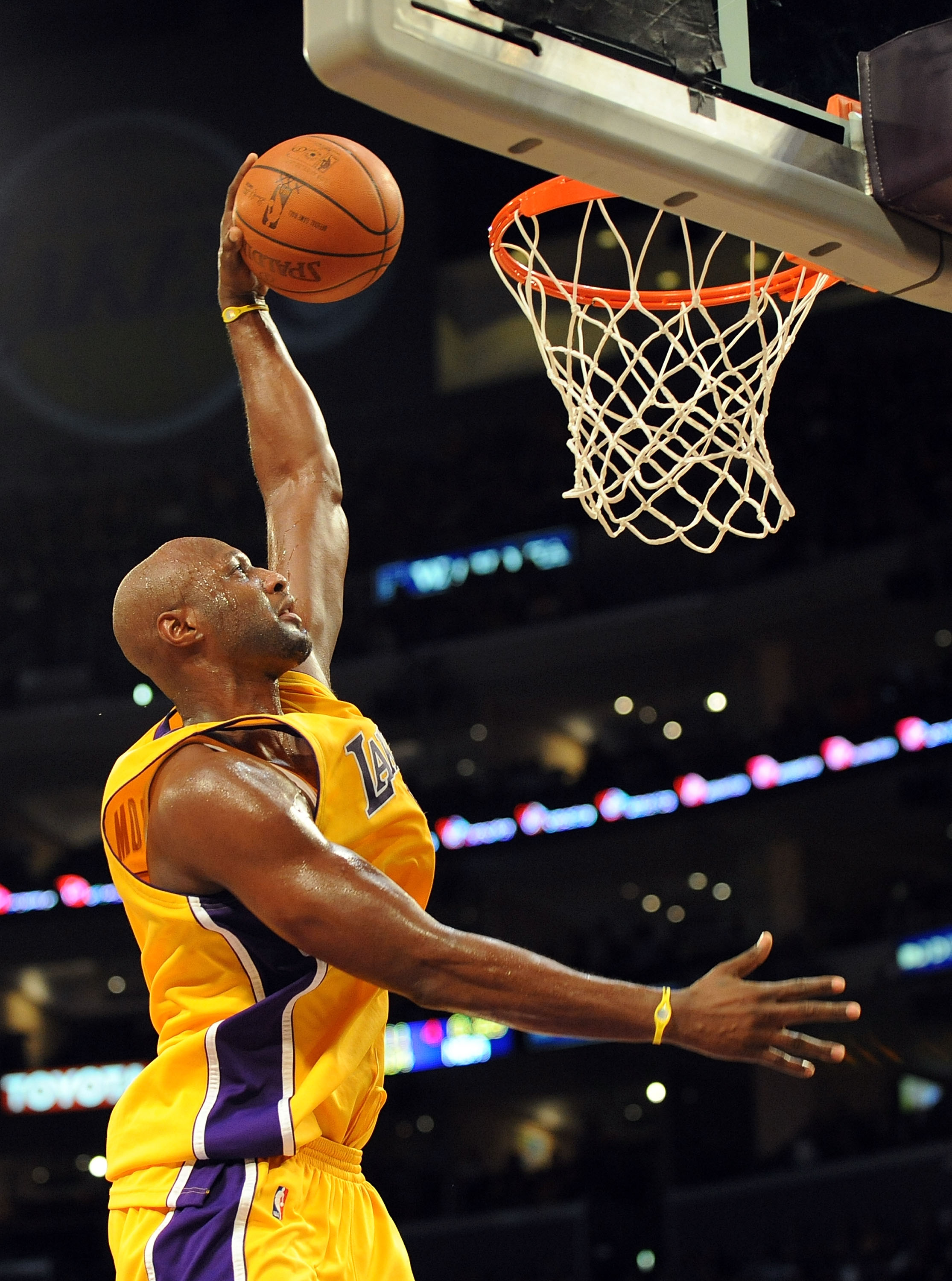 Lamar Odom of the Lakers.