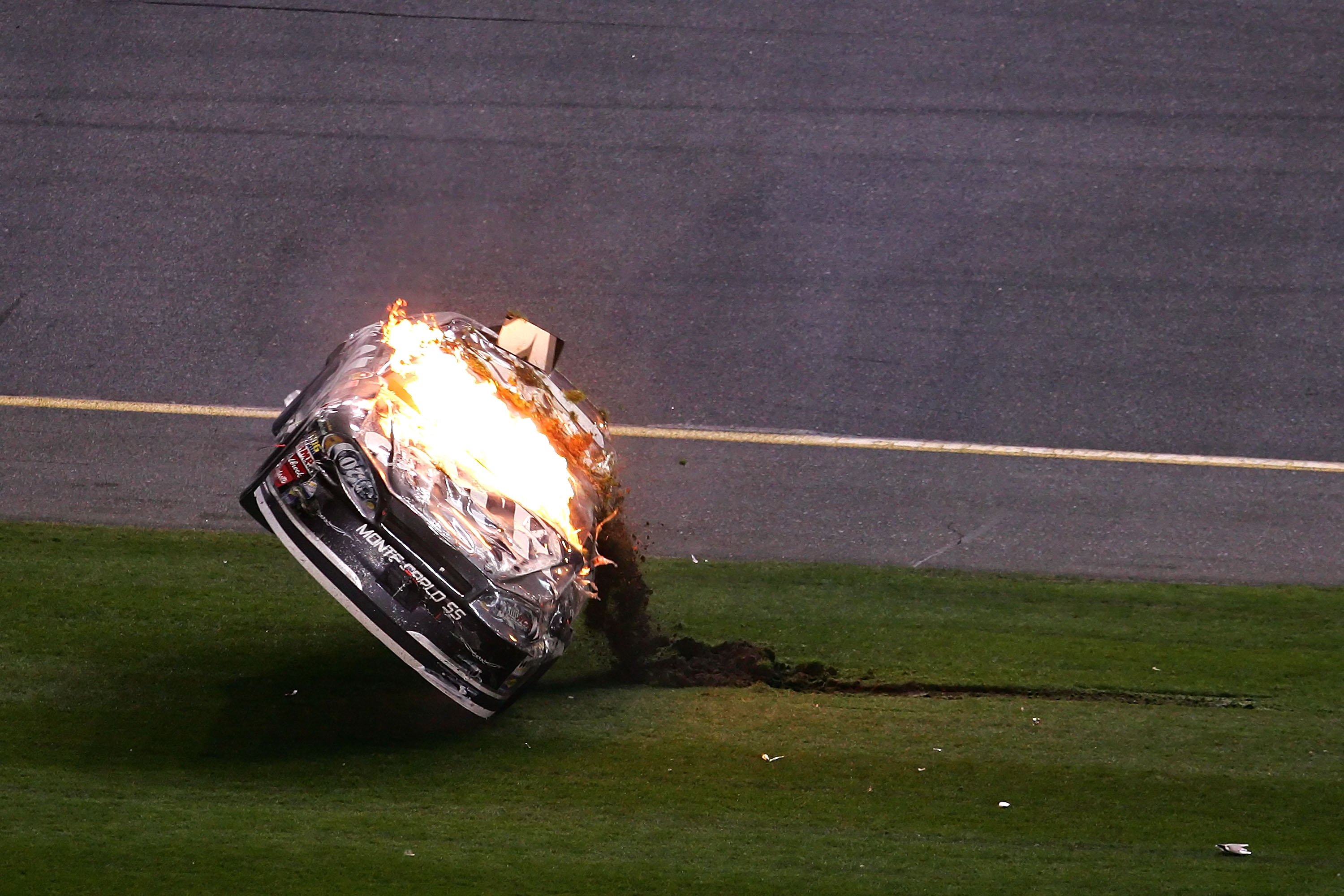 Clint Bowyer has fared much better in restrictor plate racing since this incident in 2007.