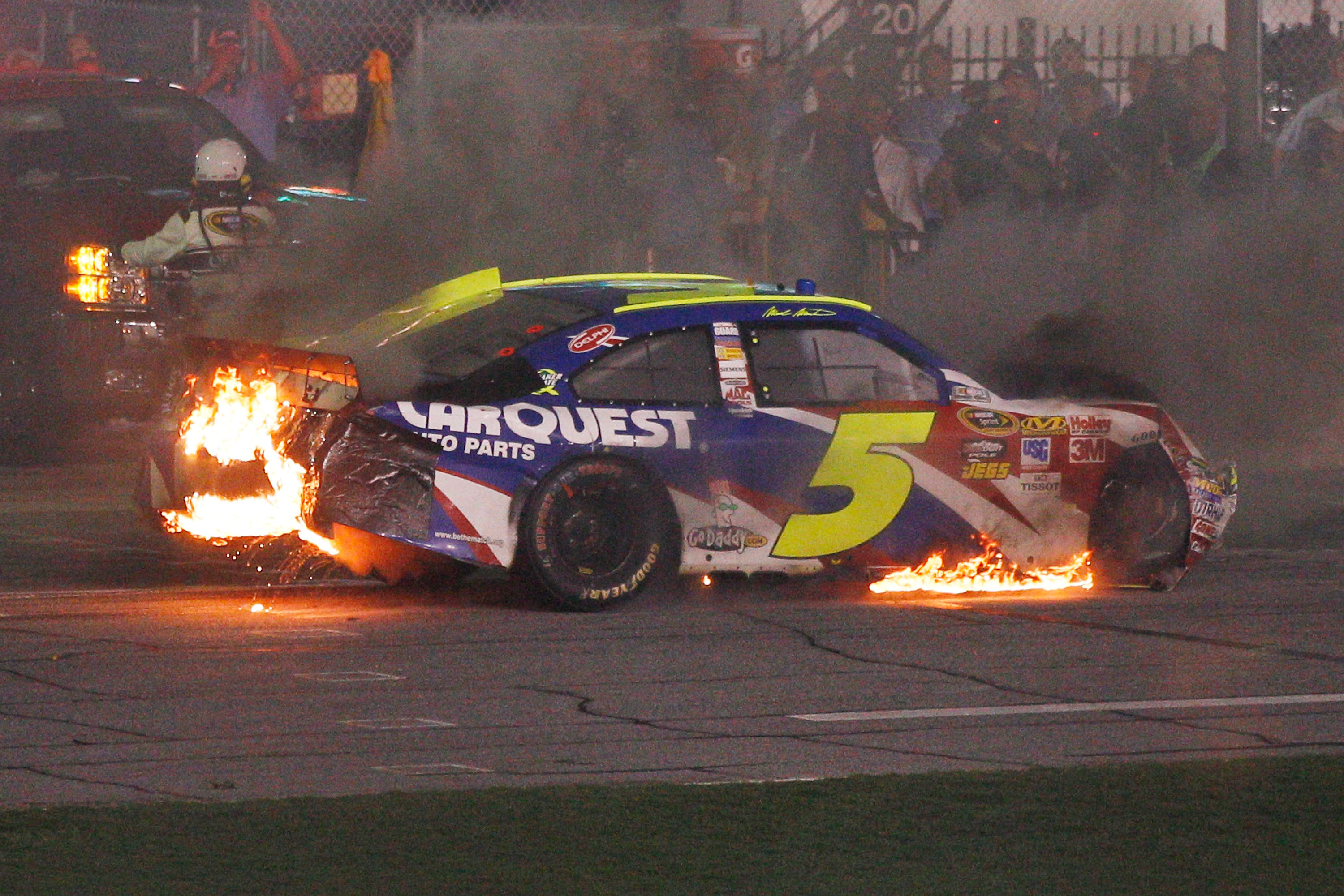 Mark Martin's success on super speedways has been limited of late.