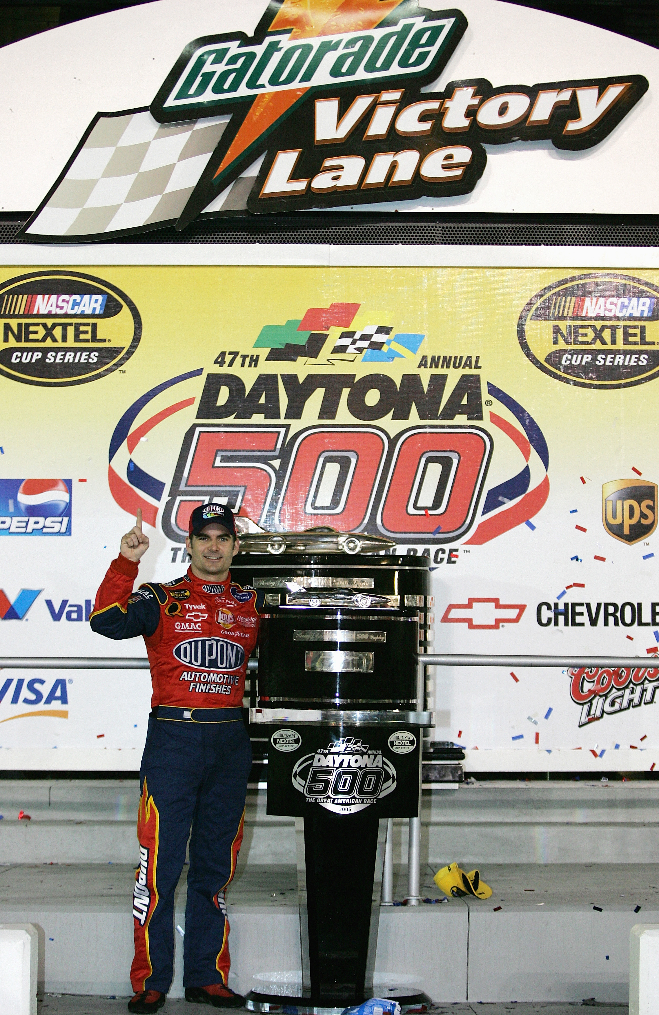 Jeff Gordon has won more restrictor plate races in history than anyone.