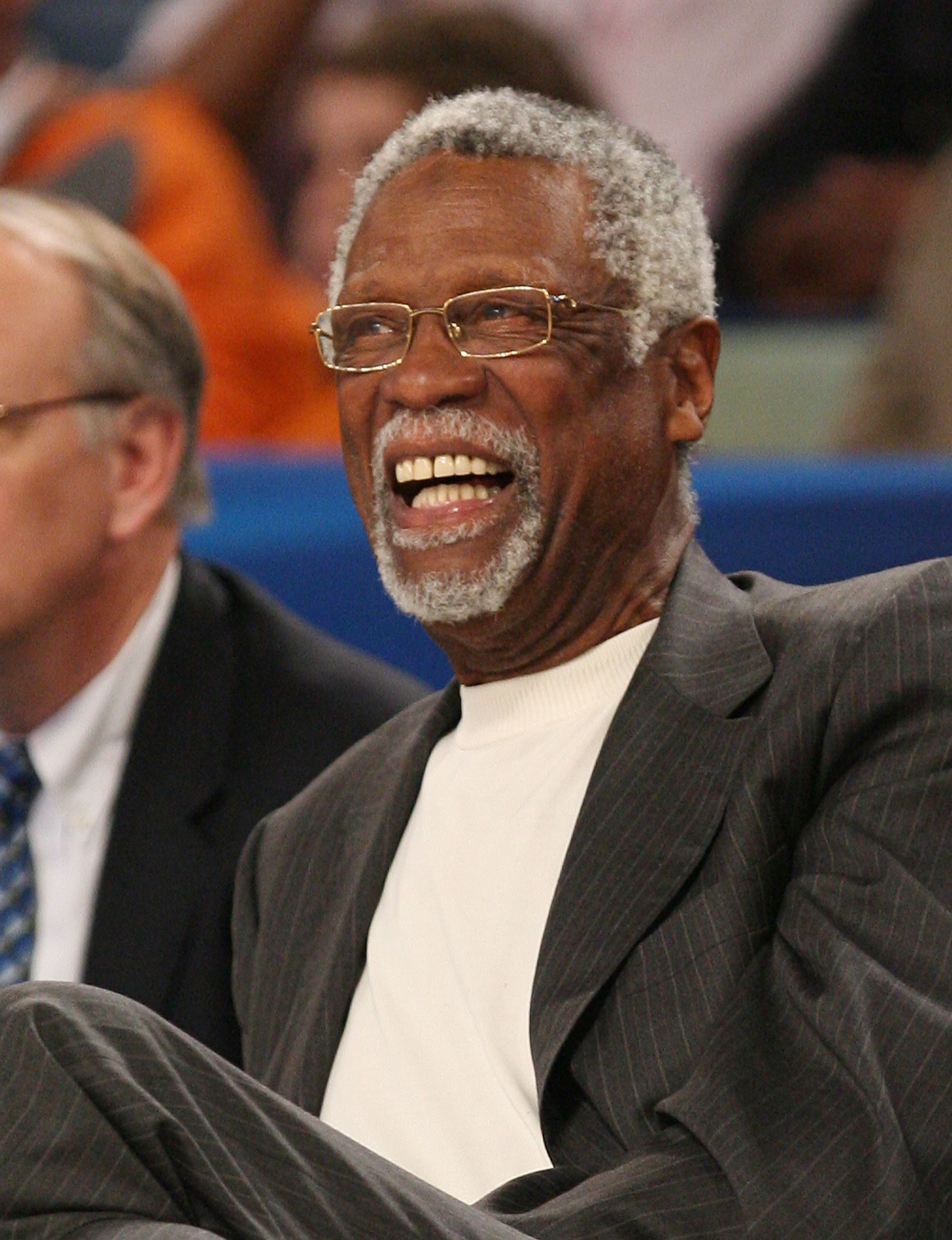 NEW ORLEANS - FEBRUARY 17:  Bill Russell attends the 57th NBA All-Star Game, part of 2008 NBA All-Star Weekend at the New Orleans Arena on February 17, 2008 in New Orleans, Louisiana.  NOTE TO USER: User expressly acknowledges and agrees that, by download