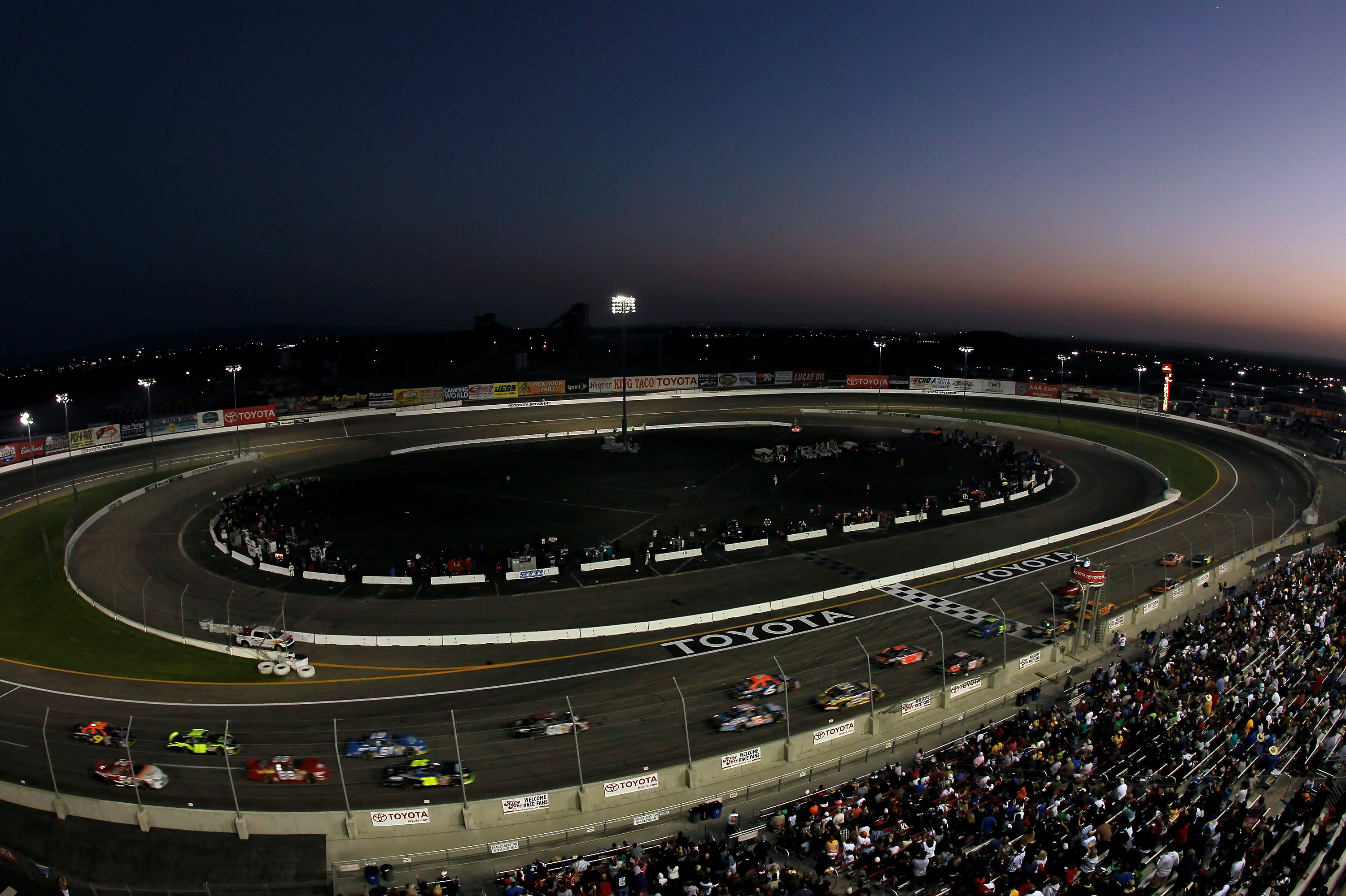 Irwindale Speedway is the fastest half mile paved track on the West Coast & racing at it's best grass roots level.