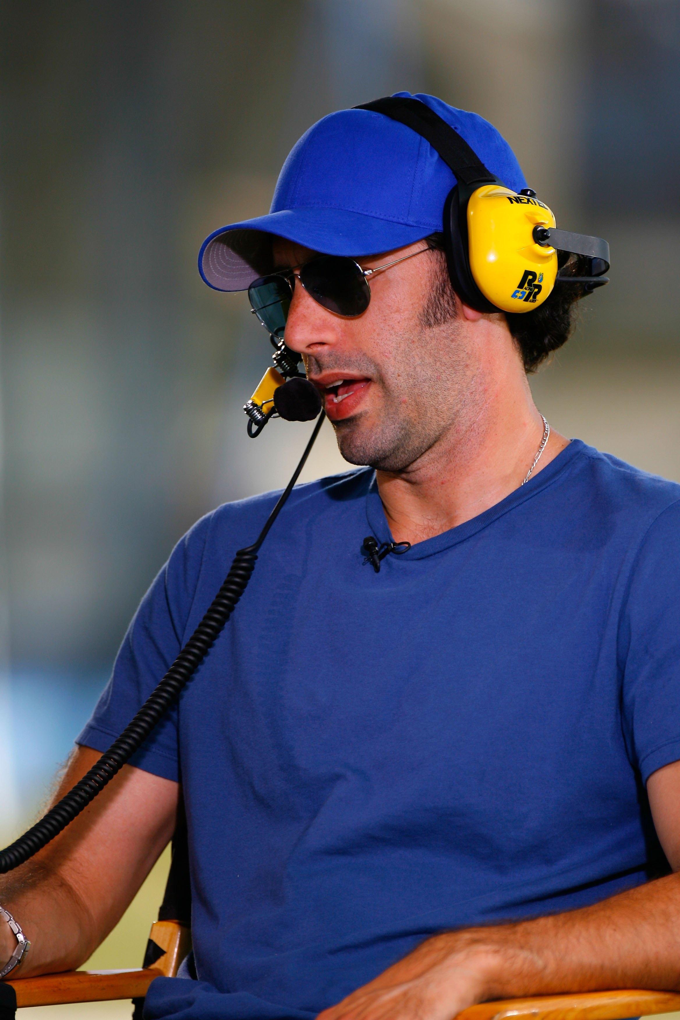 Sasha Baron Cohen played a French NASCAR driver in the movie Talladega Nights.
