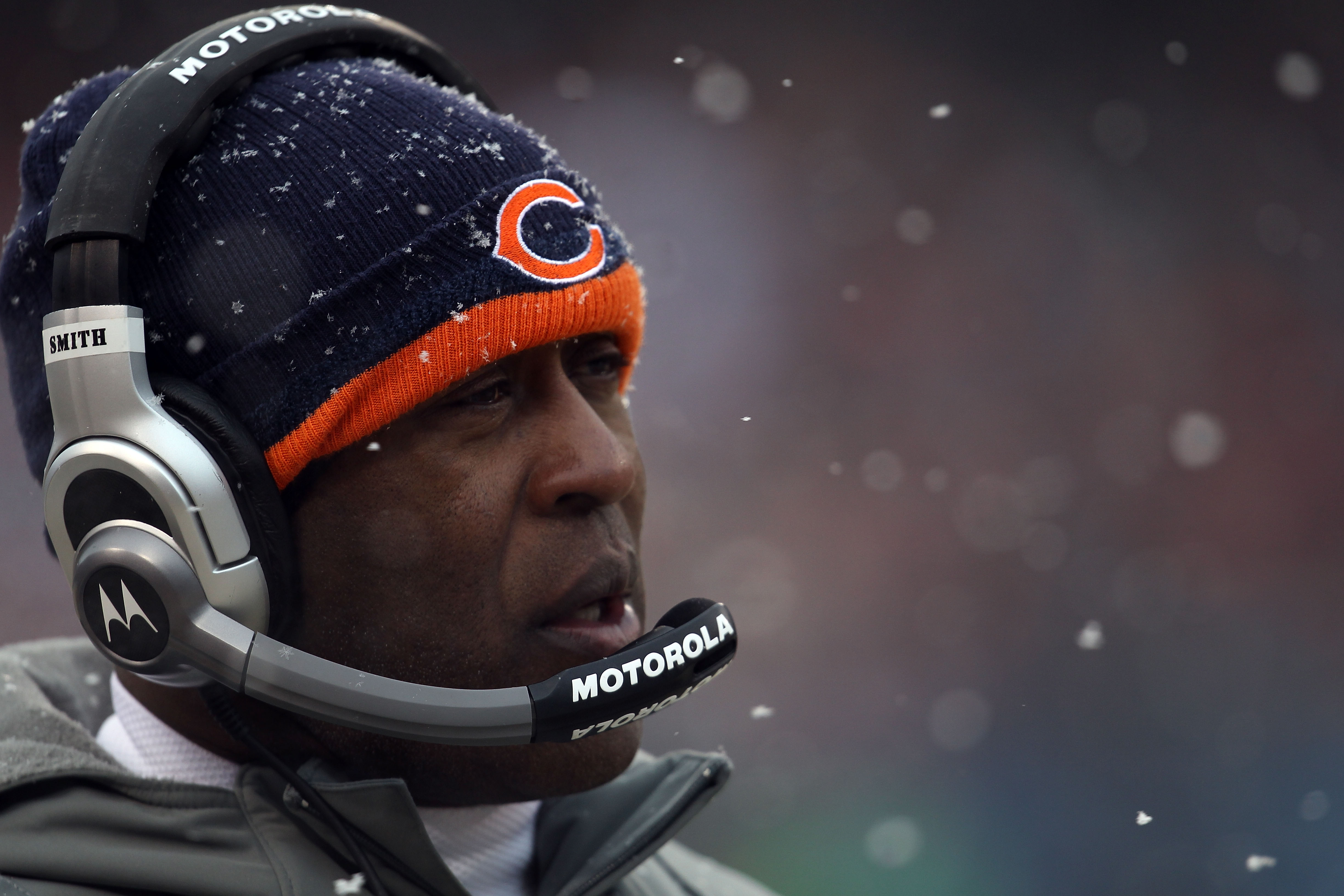 It's all over for Lovie in Chicago.