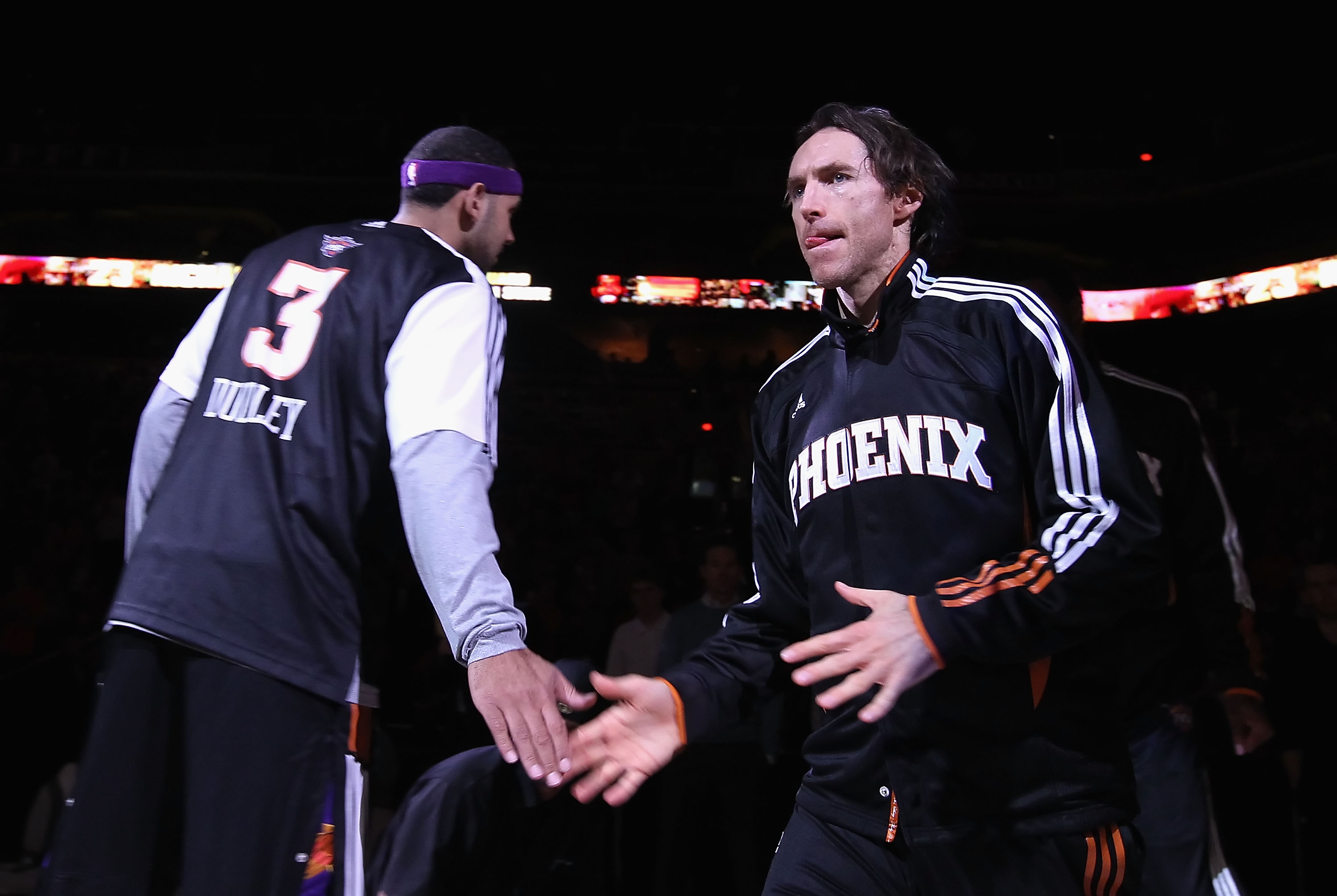 Steve Nash Ready to Wow Home Crowd