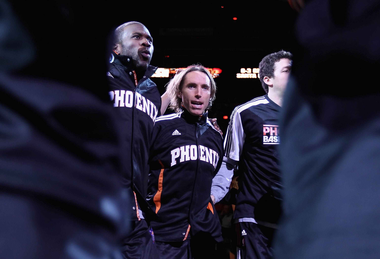 Nash, the floor leader of Suns
