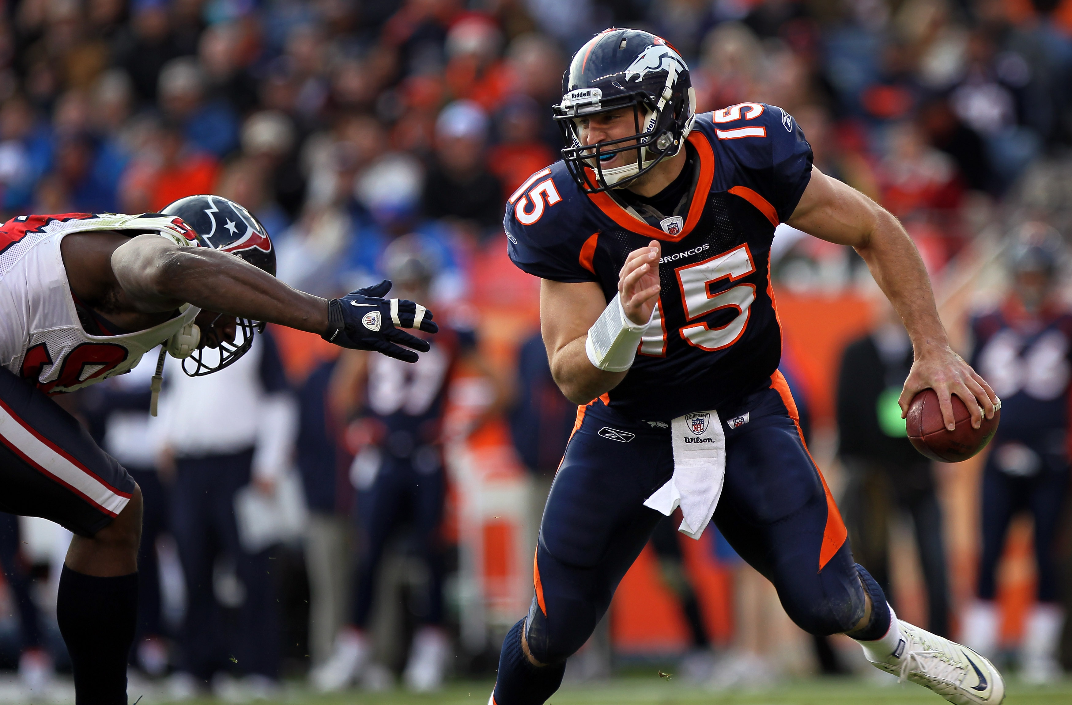 4b7fcb1c NFL's 20 Hottest Players: Tim Tebow, Troy Polamalu and More ...