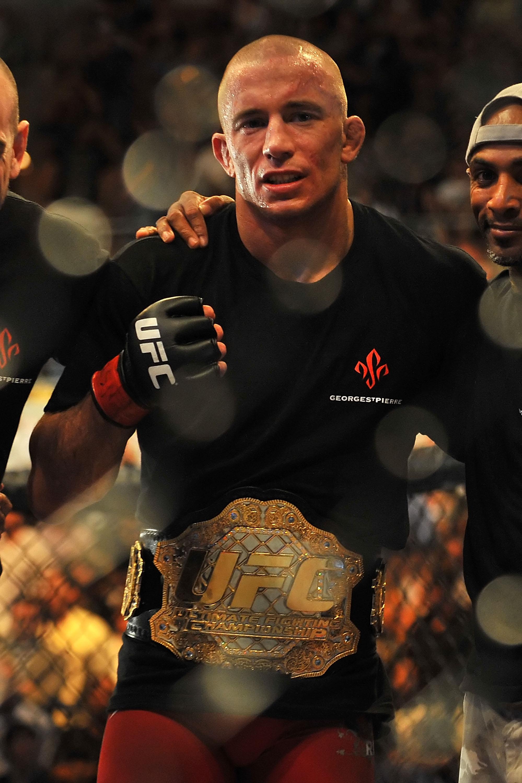 UFC Welterweight Champion Georges St. Pierre