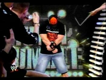 John Cena returns at the 2008 Royal Rumble