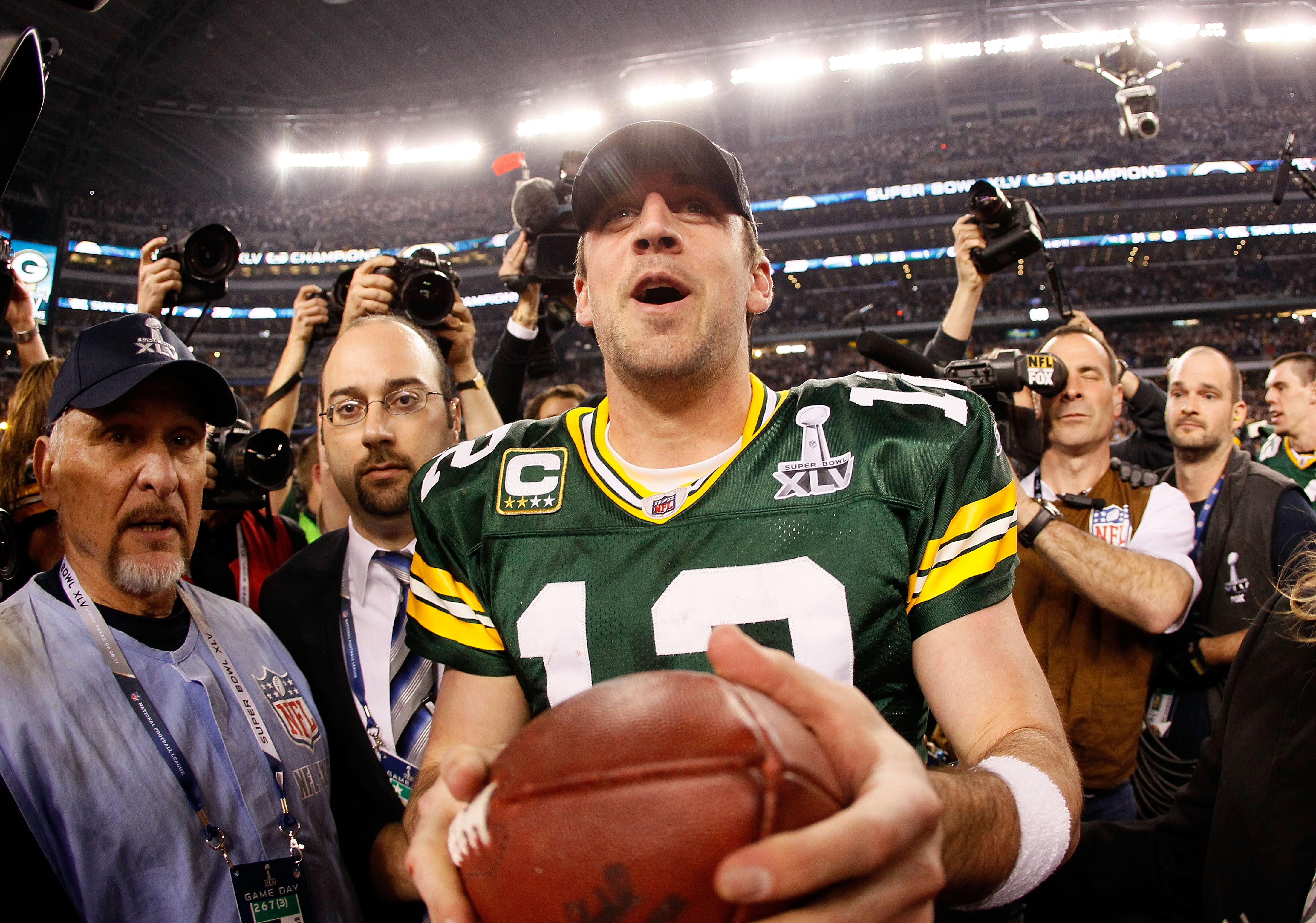 The Green Bay Packers just won Super Bowl XLV. Where do they rank?